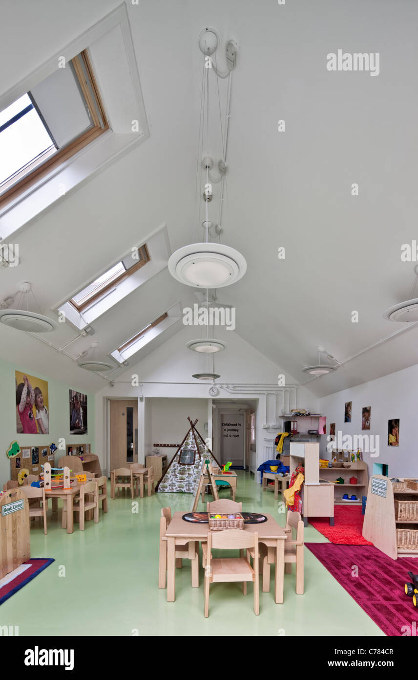 Woodstock Day Nursery (kidsunlimited) in Oxford. - Stock Image