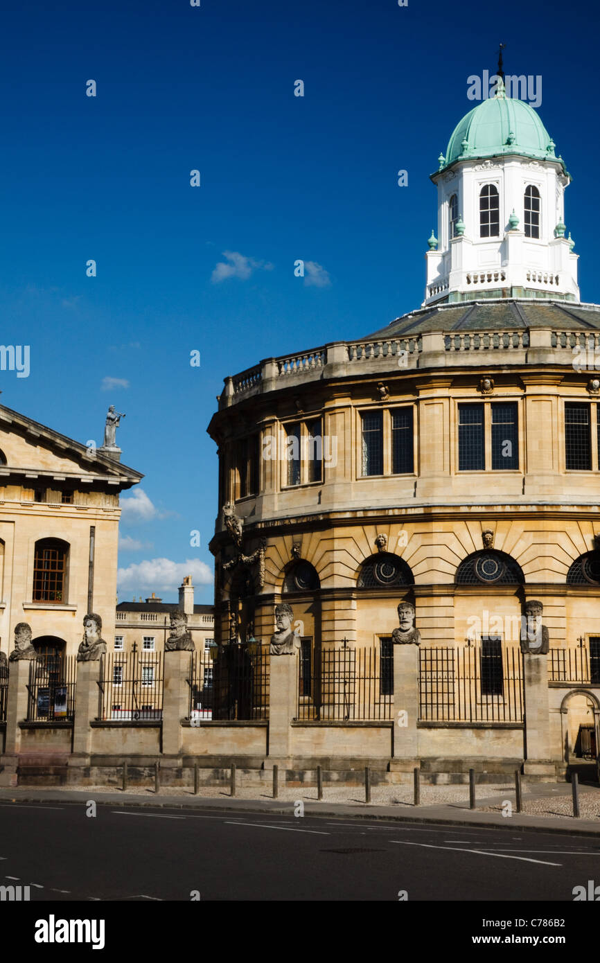 Sheldonian Theatre, The University of Oxford Stock Photo