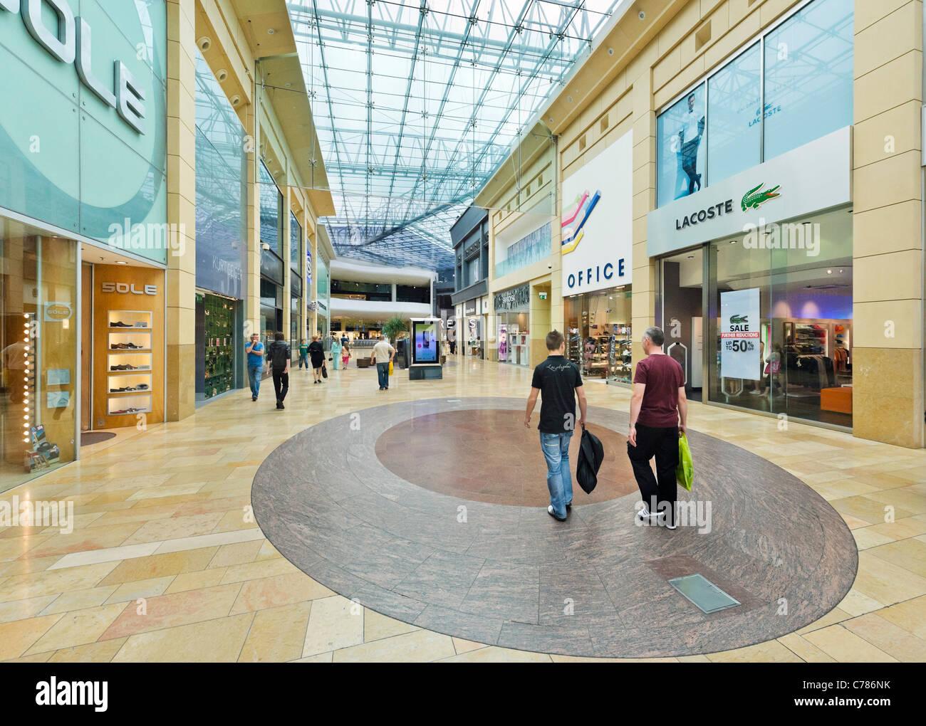 The Bull Ring Shopping Centre, Birmingham, West Midlands, England, UK - Stock Image