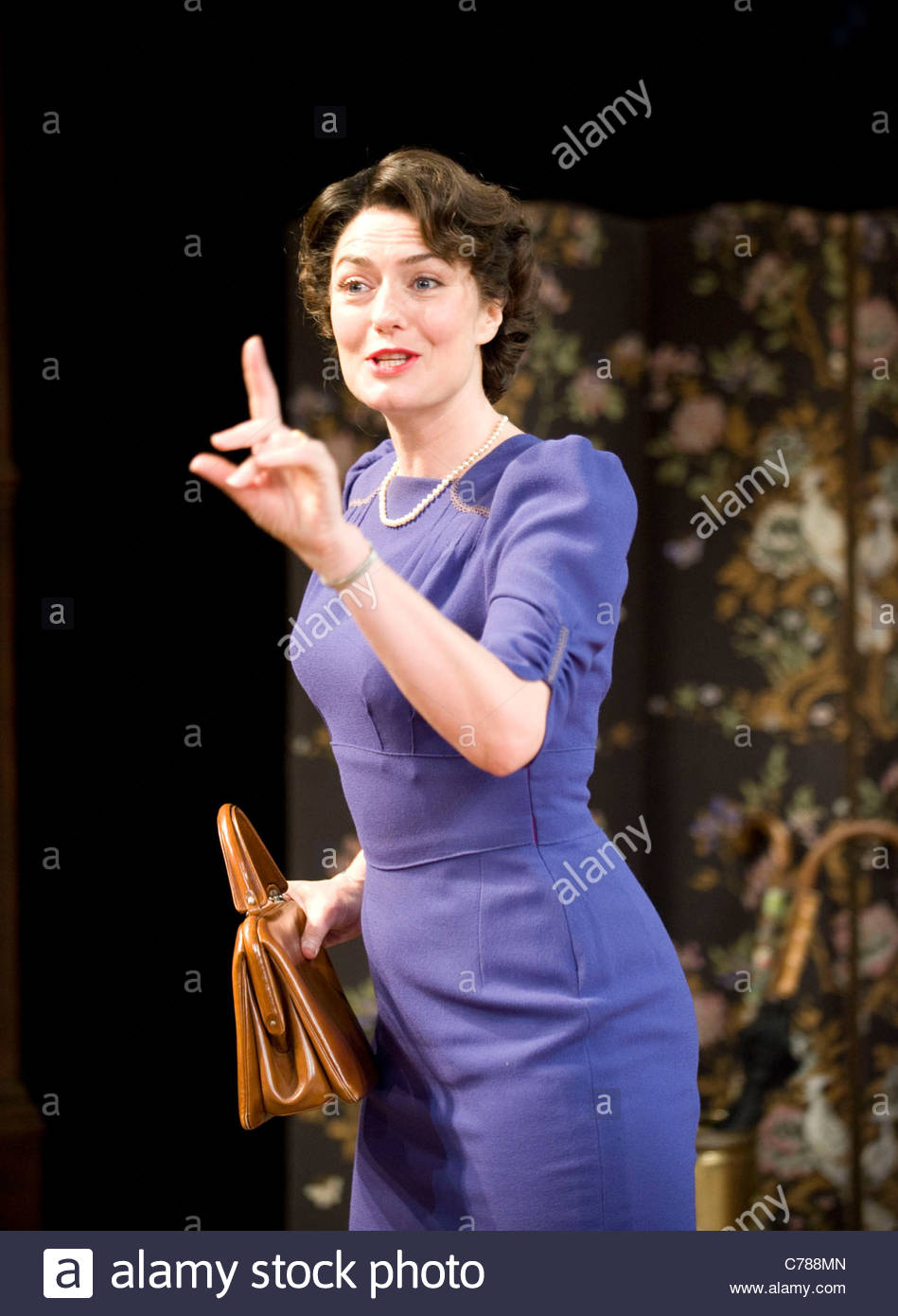 The Browning Version by Terence Rattigan directed by Angus Jackson - Stock Image