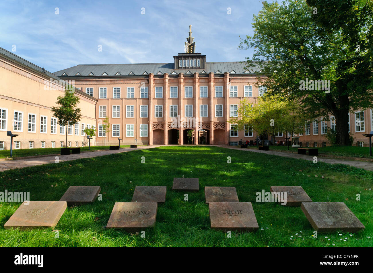 Grassimuseum museum of applied arts, ethnology and musical instruments, Leipzig, Saxony, Germany, Europe - Stock Image