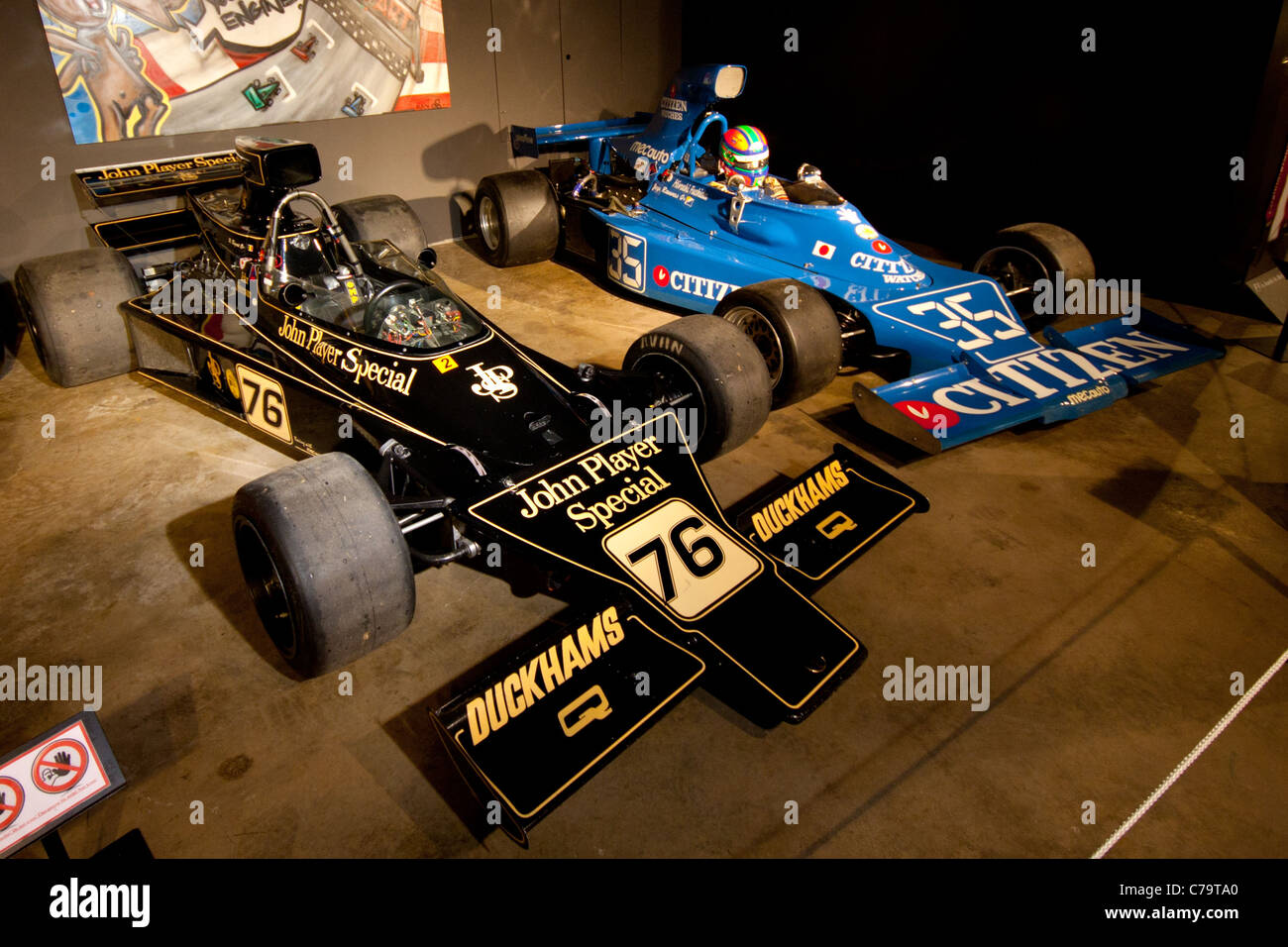 lotus 76 formula 1 car of jacky ickx and ronnie peterson in the spa stock photo 38939992 alamy. Black Bedroom Furniture Sets. Home Design Ideas