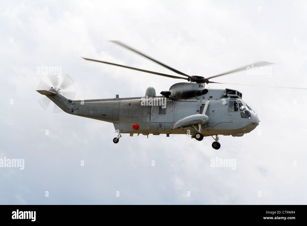 A Royal Australian Navy Sea King doing a test-flight  These Stock