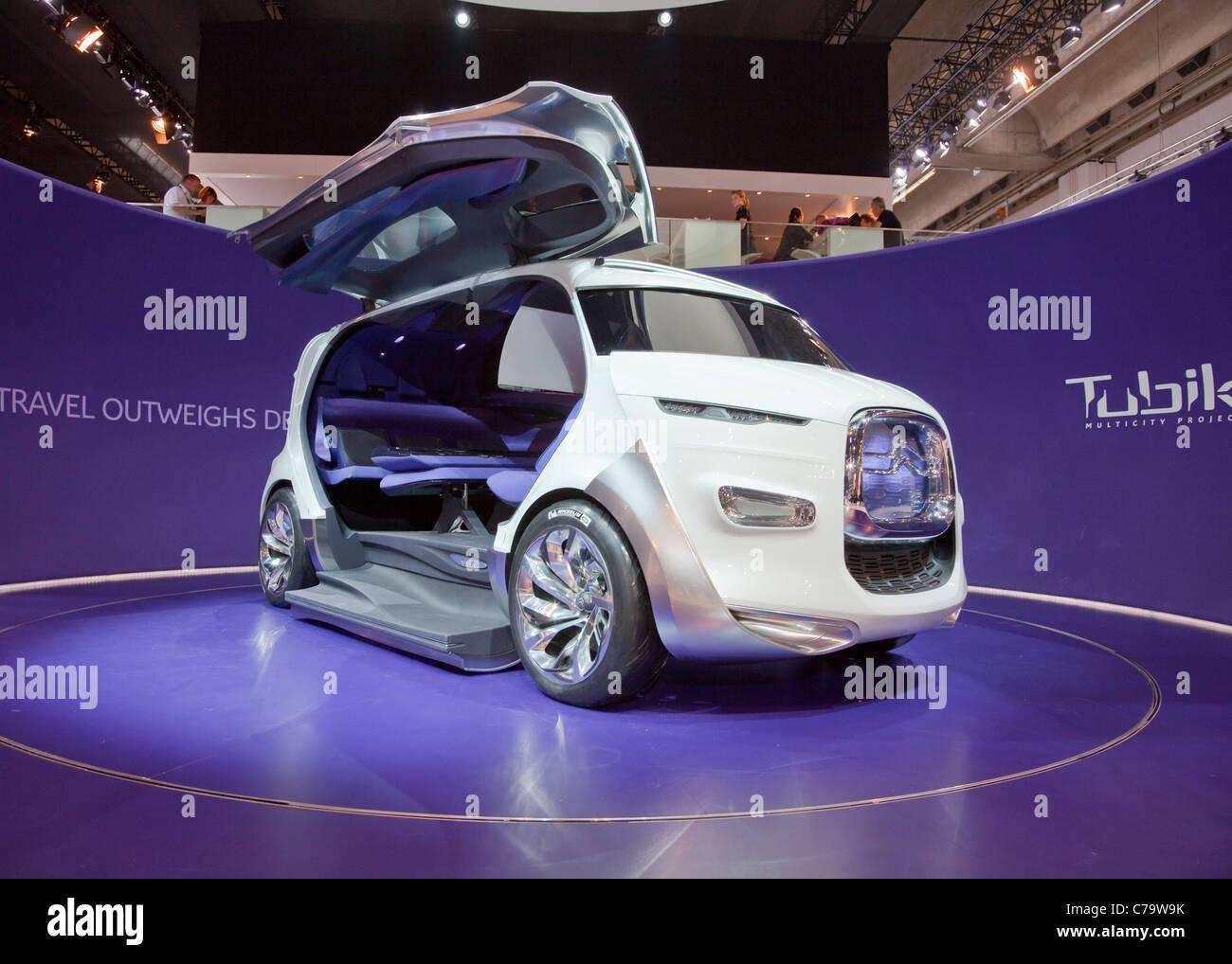 Citroen Tubik Concept Car on the IAA 2011 International Motor Show in Frankfurt am Main, Germany - Stock Image
