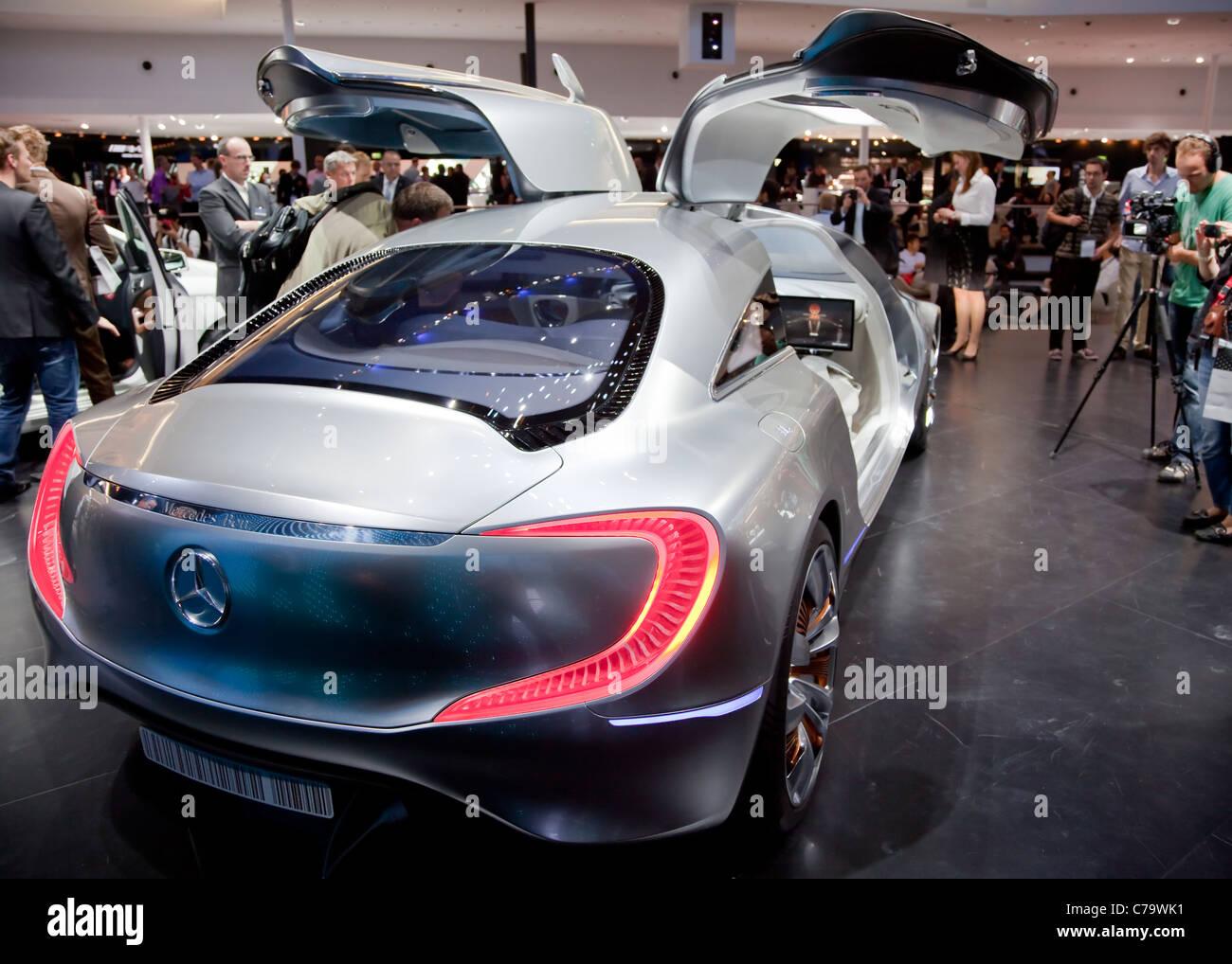 New Mercedes Benz Concept Car F125 On The Iaa 2011 International