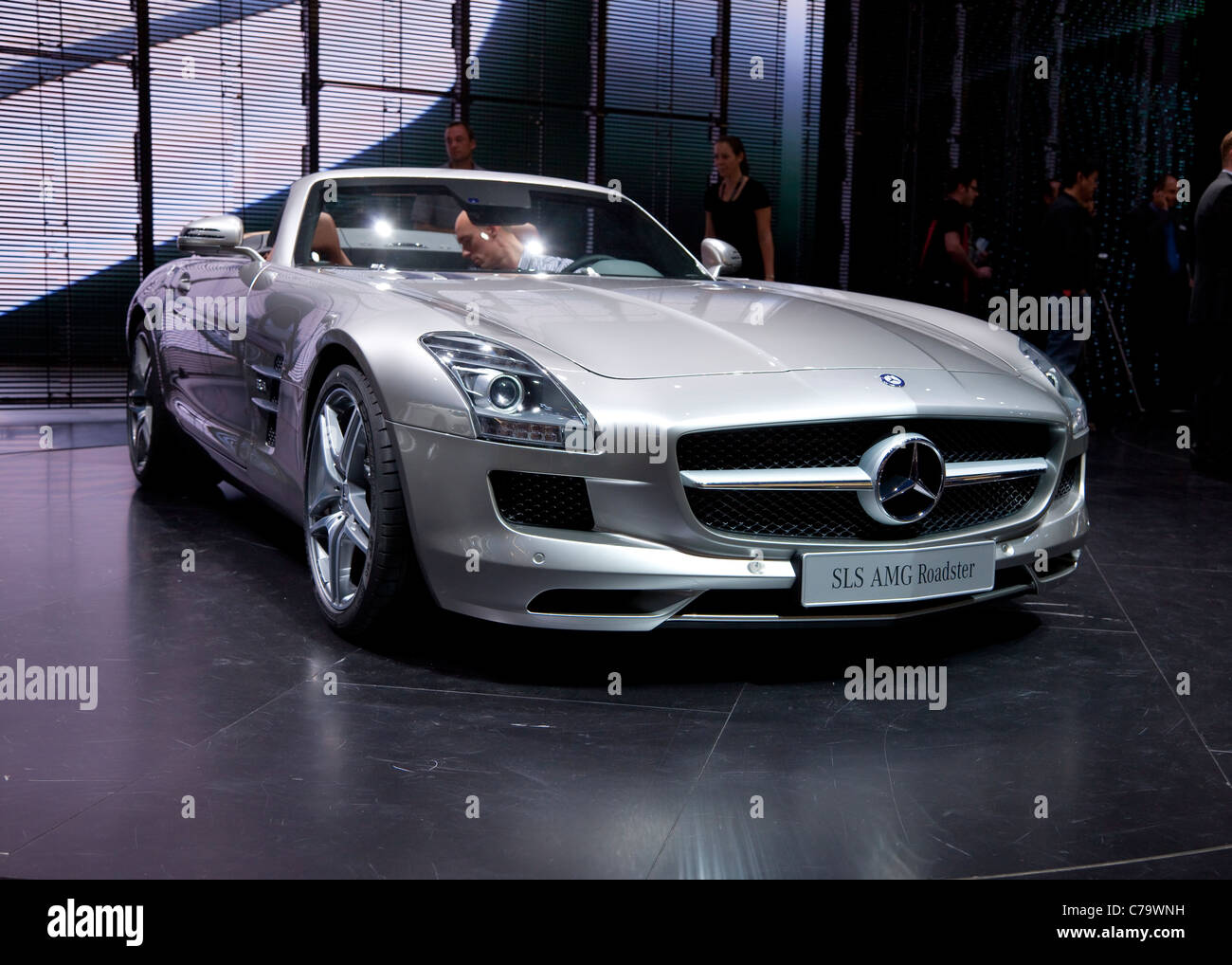 Mercedes Stock Photos Images Alamy Benz 230ce Fuel Filter New Roadster Sls Amg On The Iaa 2011 International Motor Show In Frankfurt Am