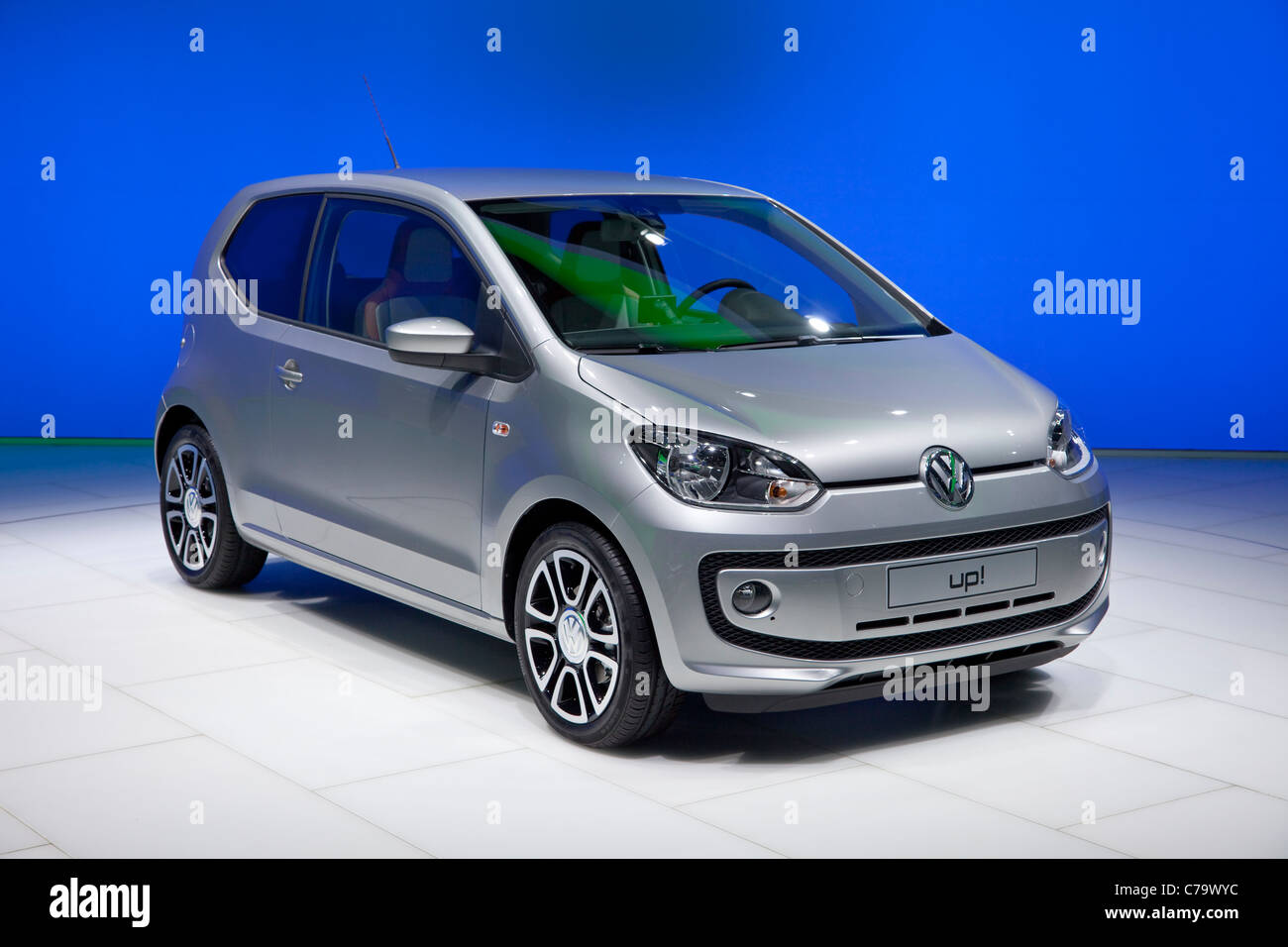 New VW Volkswagen up! on the IAA 2011 International Motor Show in Frankfurt am Main, Germany - Stock Image