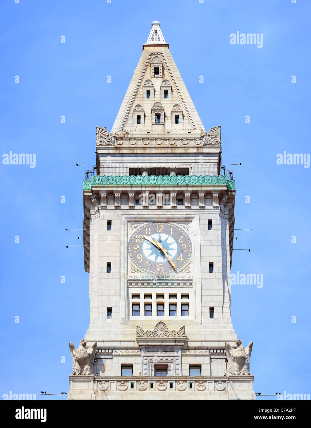 Custom House Boston High Resolution Stock Photography And Images Alamy