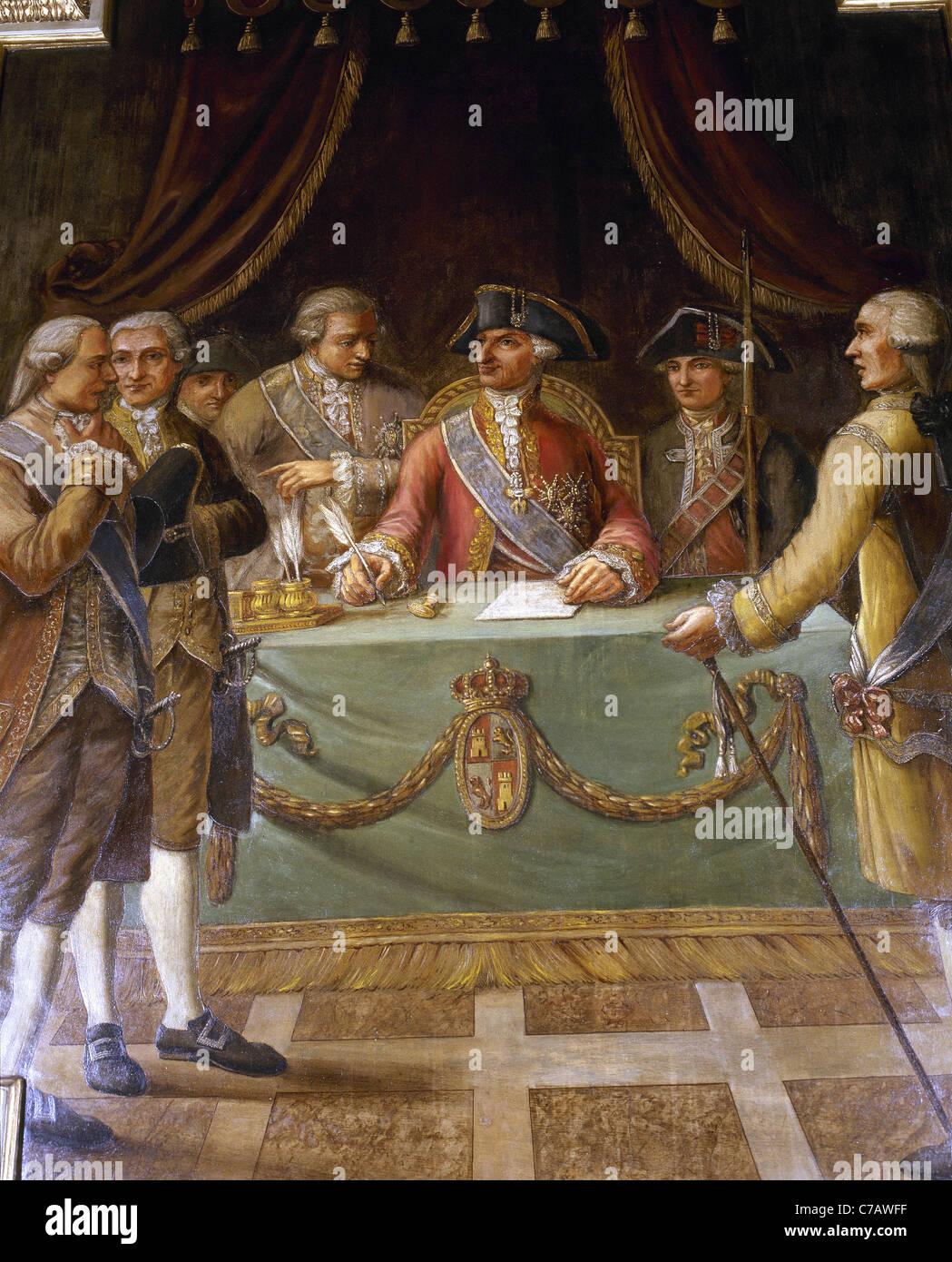 foto de Charles III (1716-1788). King of Spain lowers the tax of ...