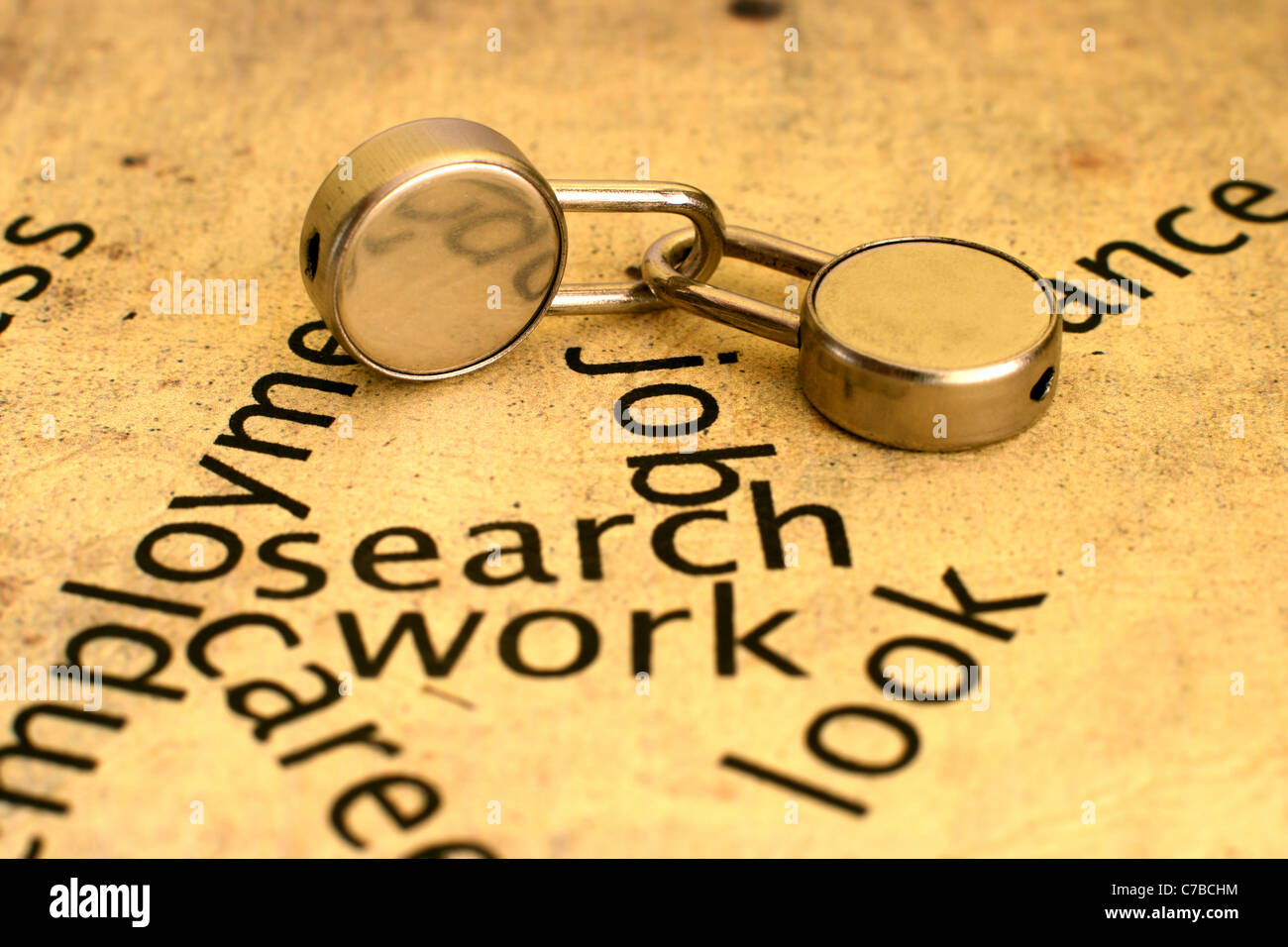 Search job - Stock Image