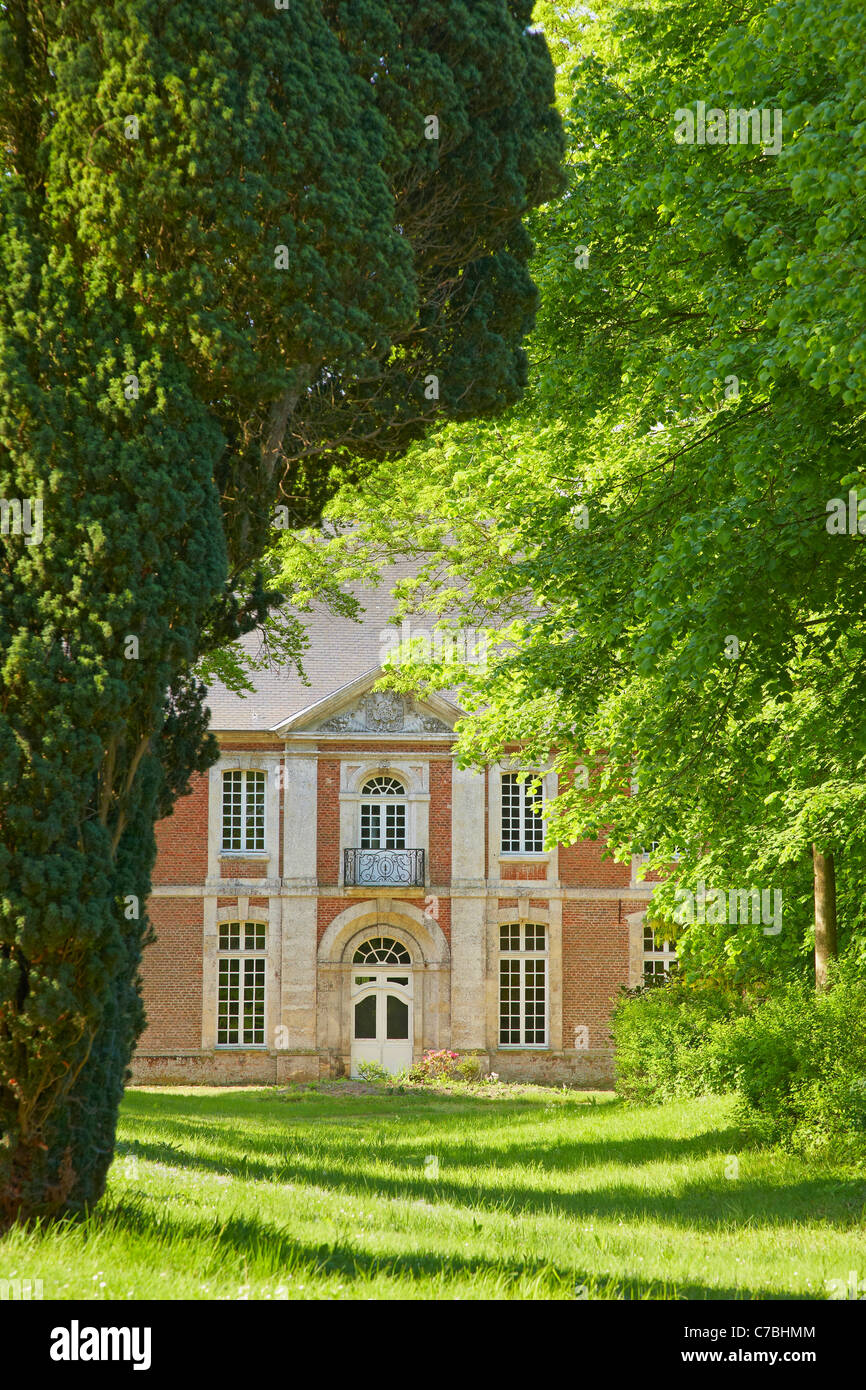 Saint Valery abbey at the old town of Saint-Valery-sur-Somme, Dept. Somme, Picardie, France, Europe - Stock Image