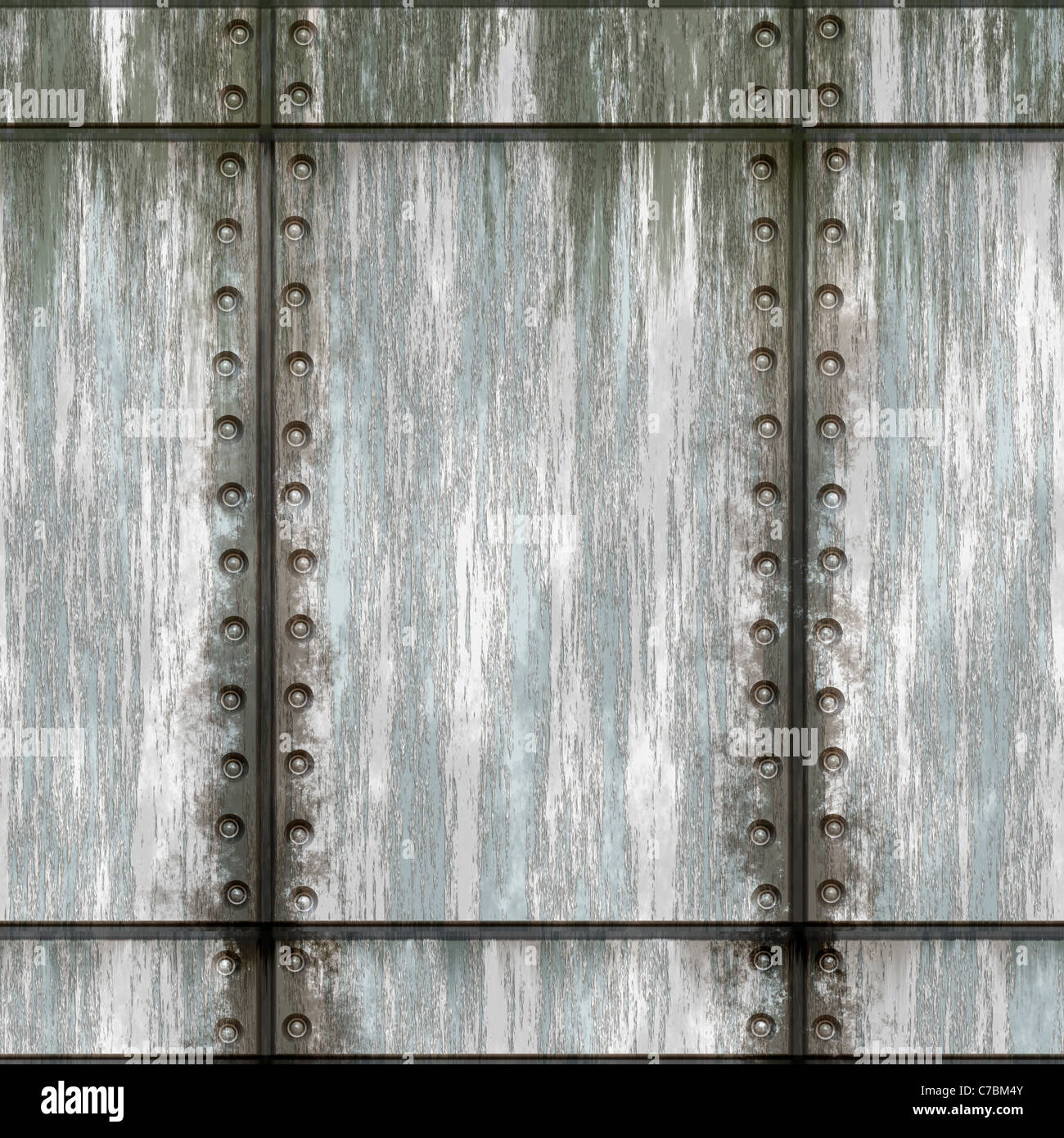 seamless metal wall texture. Seamless Worn Green Metal Texture With Rivets That Tiles As A Pattern In Any Direction. Wall G