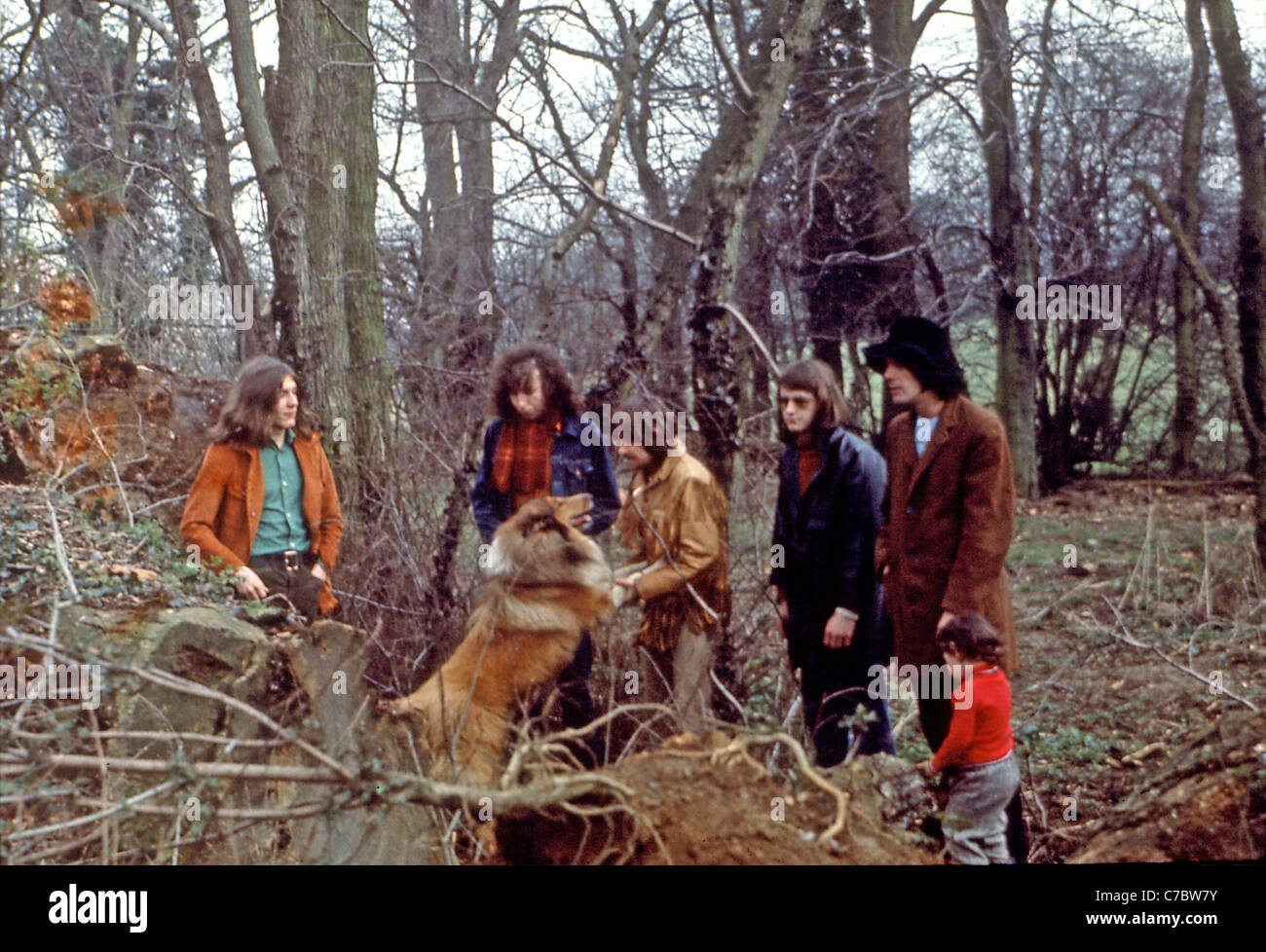 FAIRPORT CONVENTION UK folk rock group about 1976 - Stock Image