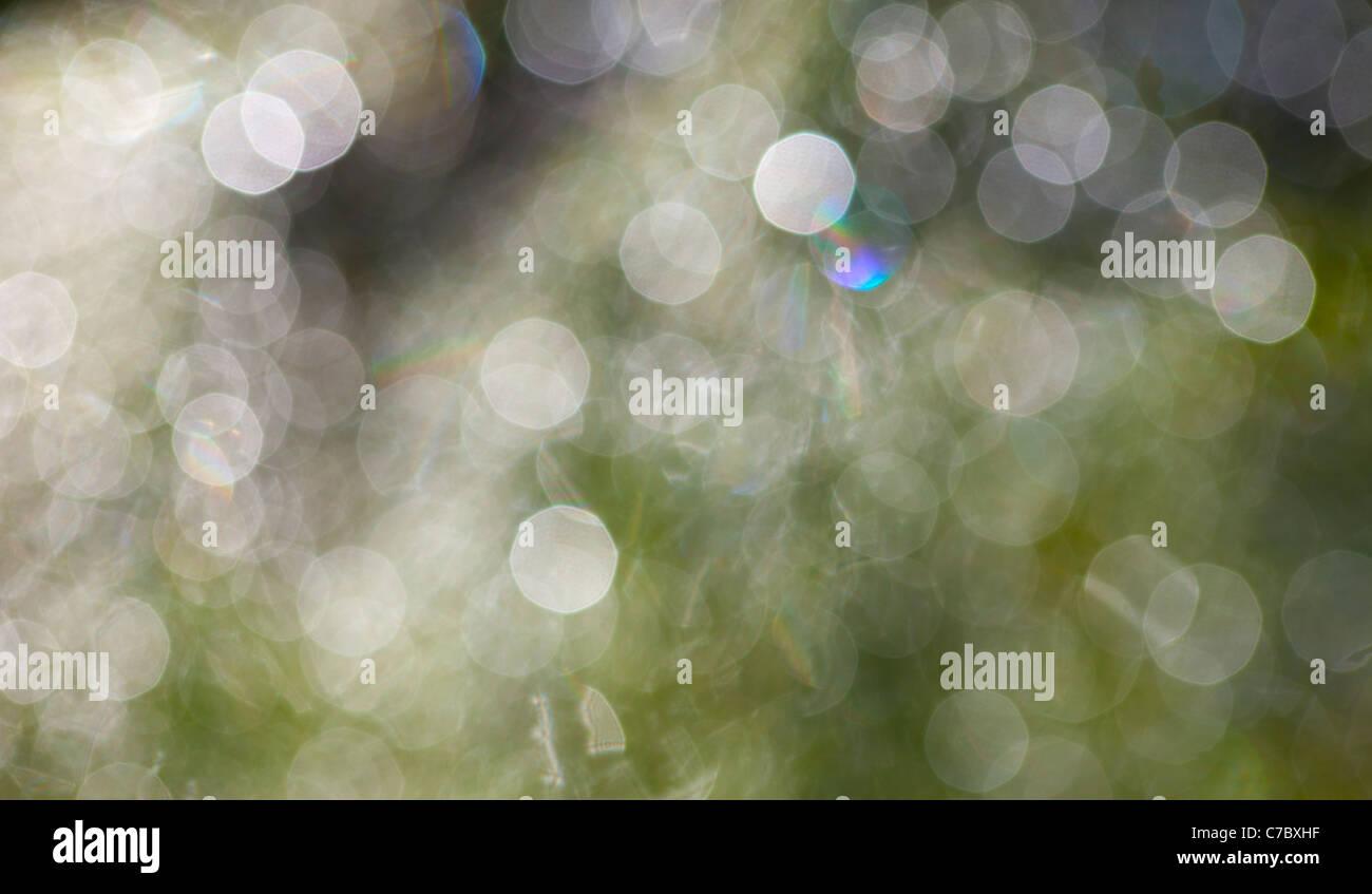 Light spots - Stock Image
