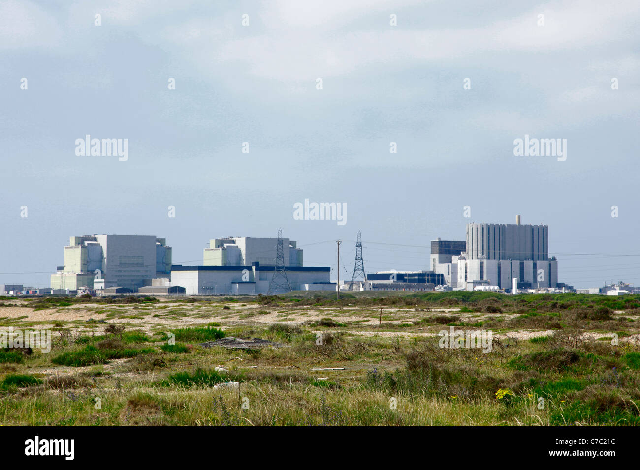 Dungeness B nuclear power station - Stock Image