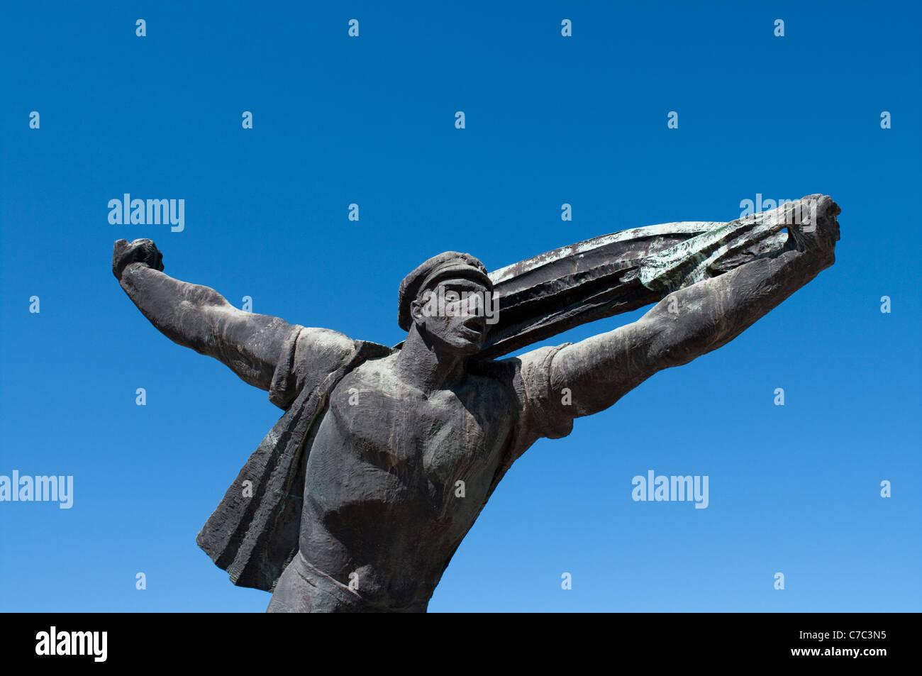 Memento park, Budapest - Stock Image