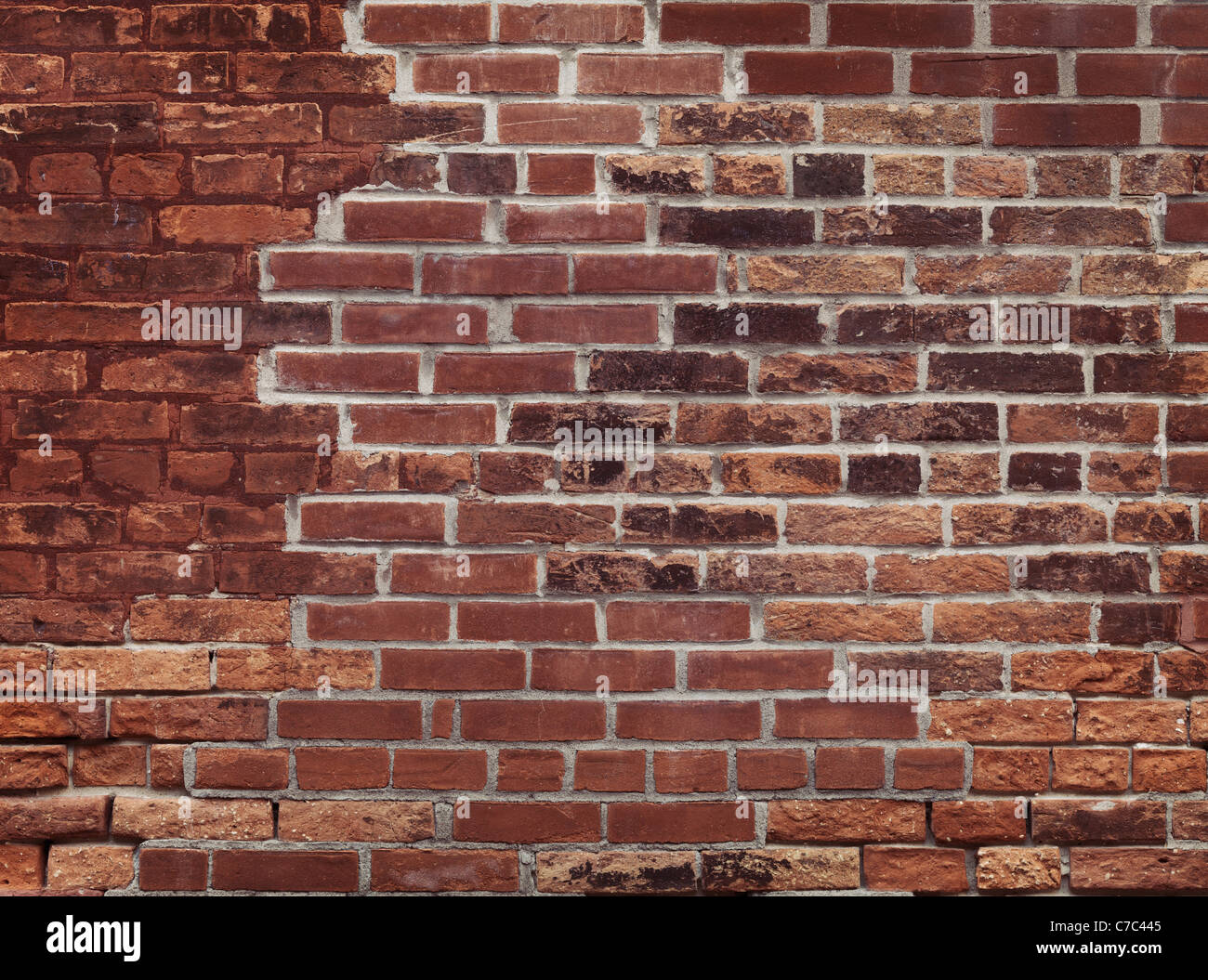 Old Red Brick Wall Texture Background High Resolution Quality Photo