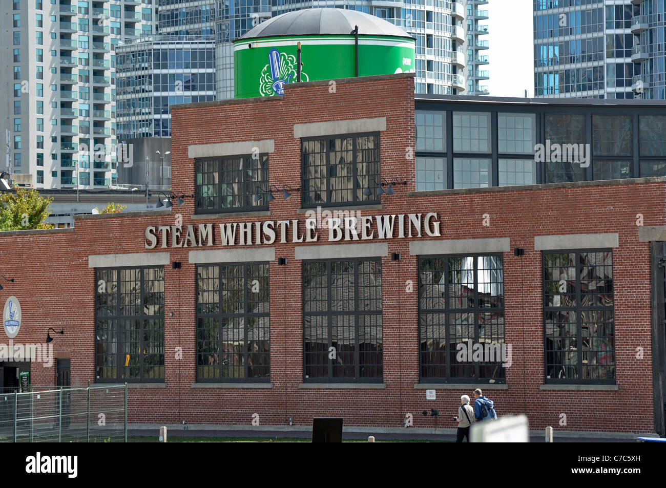Steam Whistle Brewery, Toronto, Canada - Stock Image