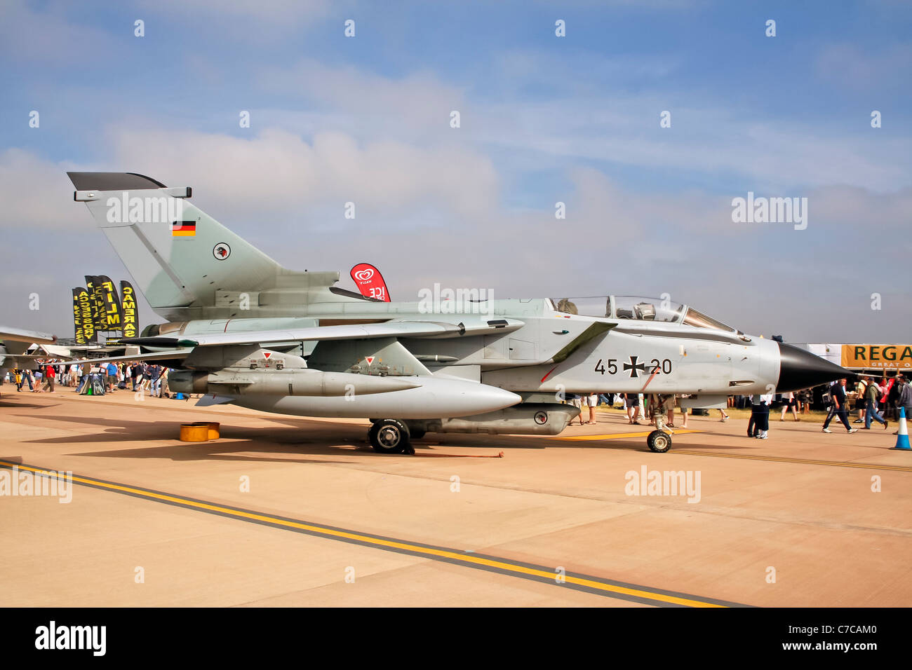 Tornado IDS (45+06) on display Royal International Air Tattoo - Stock Image