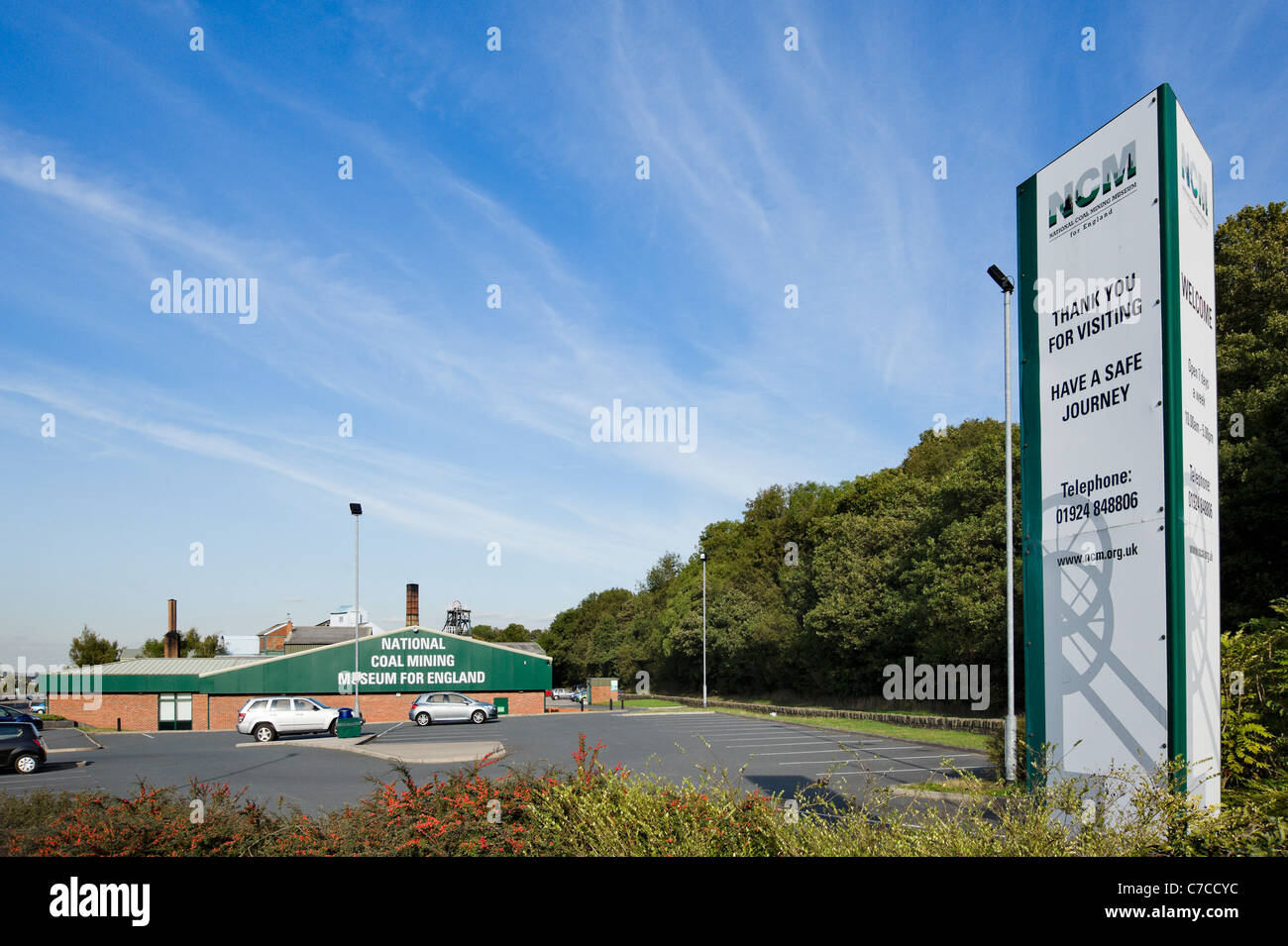 The National Coal Mining Museum for England, Overton, Wakefield, West Yorkshire, UK - Stock Image