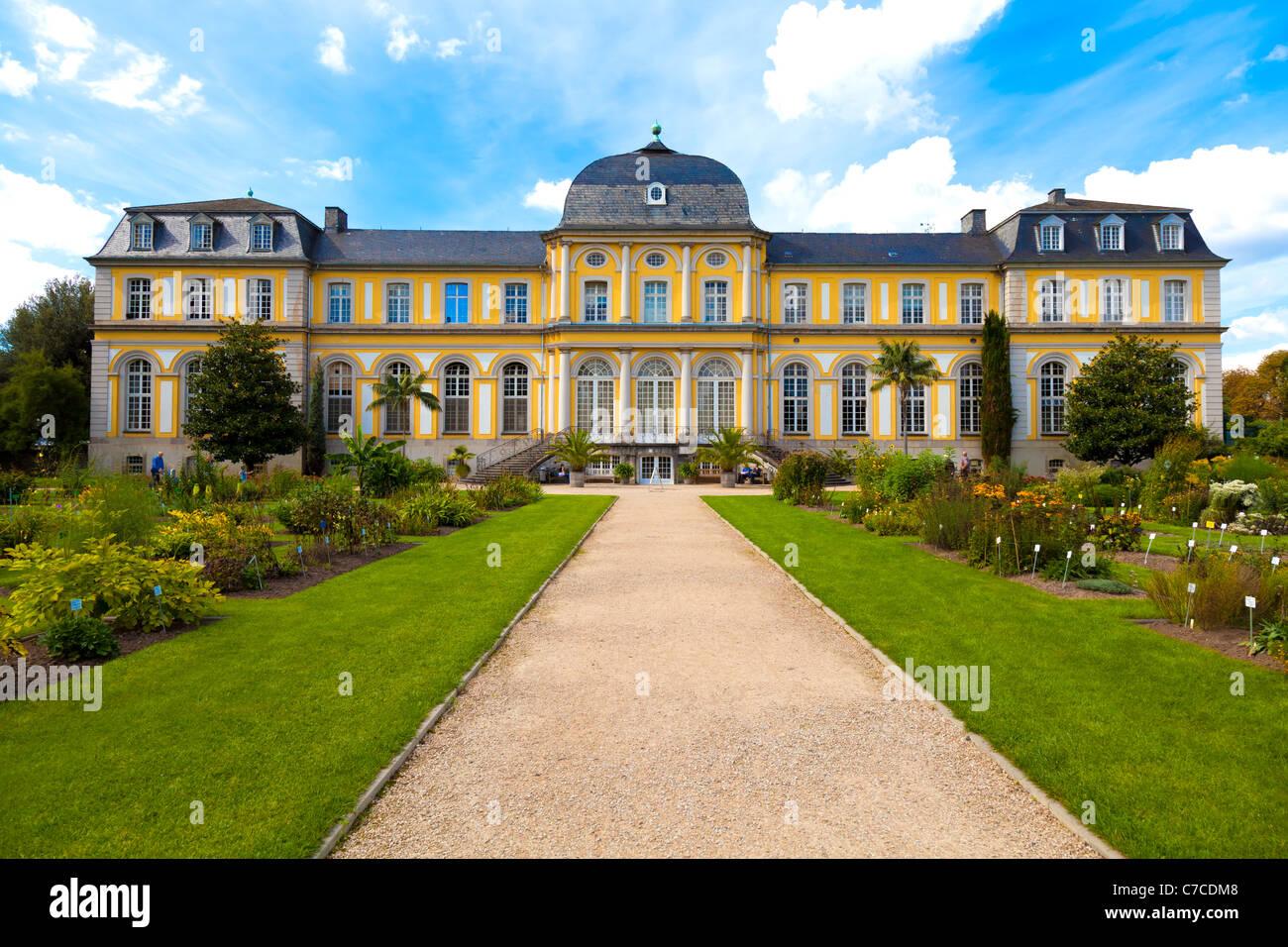 Poppelsdorfer Schloss in Bonn, Germany - Stock Image