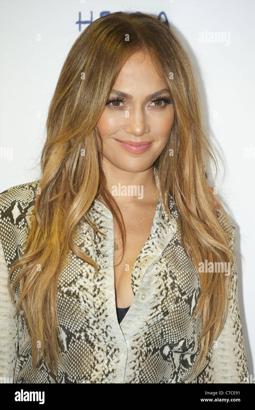 Jennifer Lynn Lopez aka J.Lo, is an American actress, singer, record producer, dancer, television personality, fashion Stock Photo