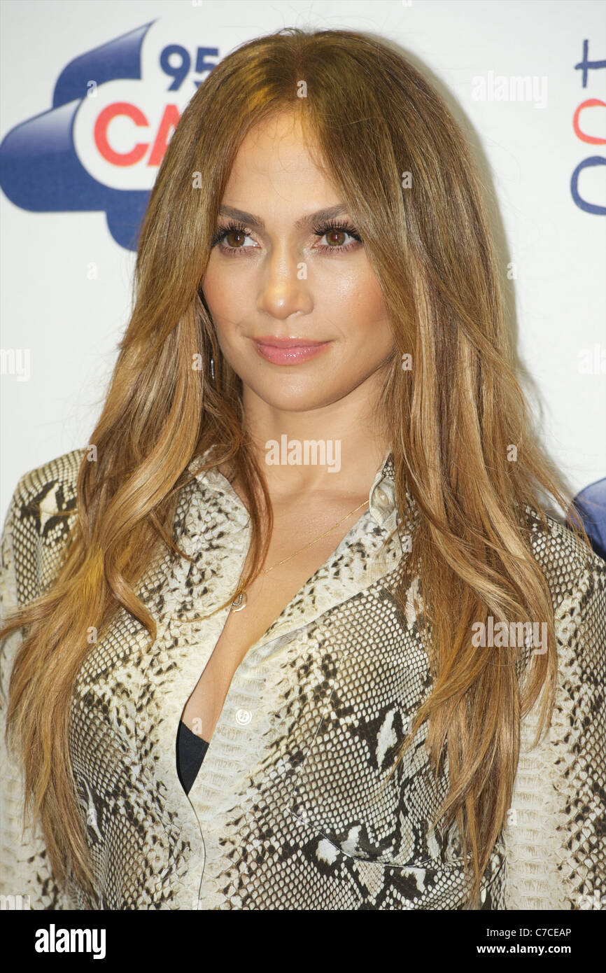 Jennifer Lynn Lopez aka J.Lo, is an American actress, singer, record producer, dancer, television personality, fashion - Stock Image