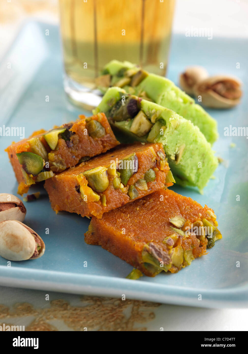 Pakistani confection - Stock Image