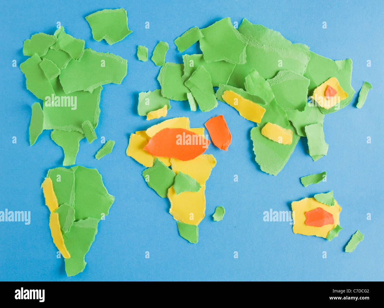 Deserts Of The World Map Stock Photos & Deserts Of The World ...