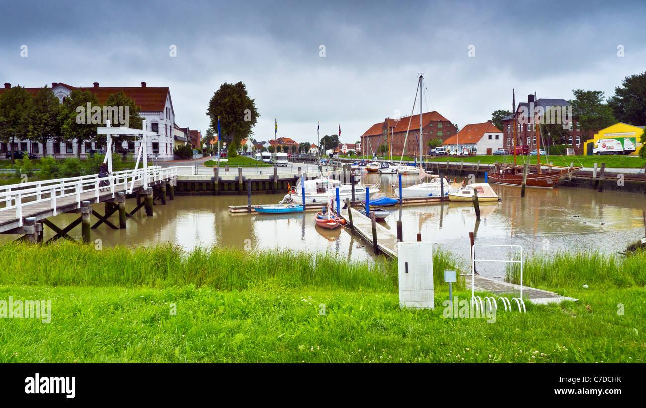 Tönning, Schleswig-Holstein, Germany - Stock Image