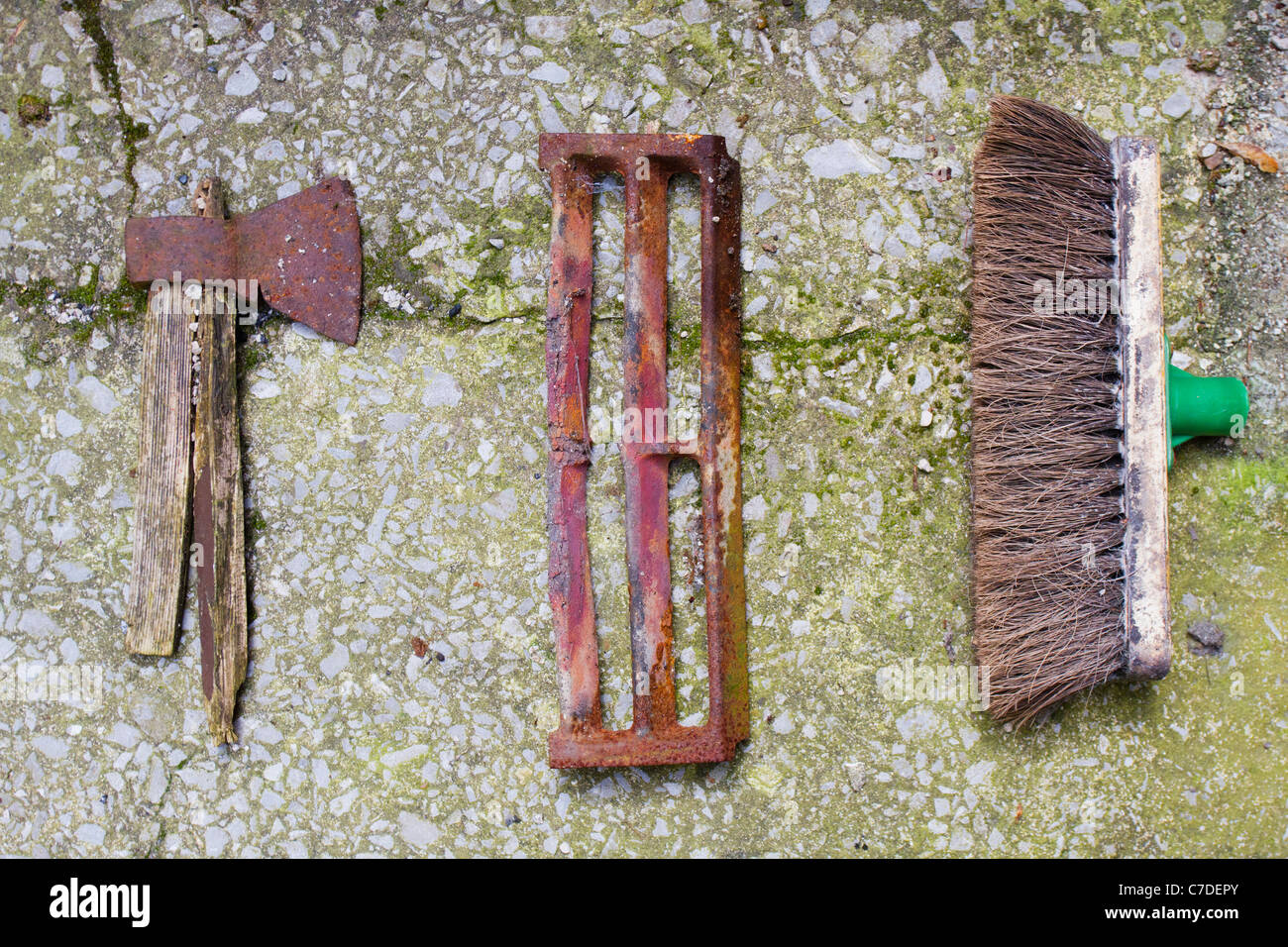 Old Broom Stock Photos & Old Broom Stock Images - Alamy