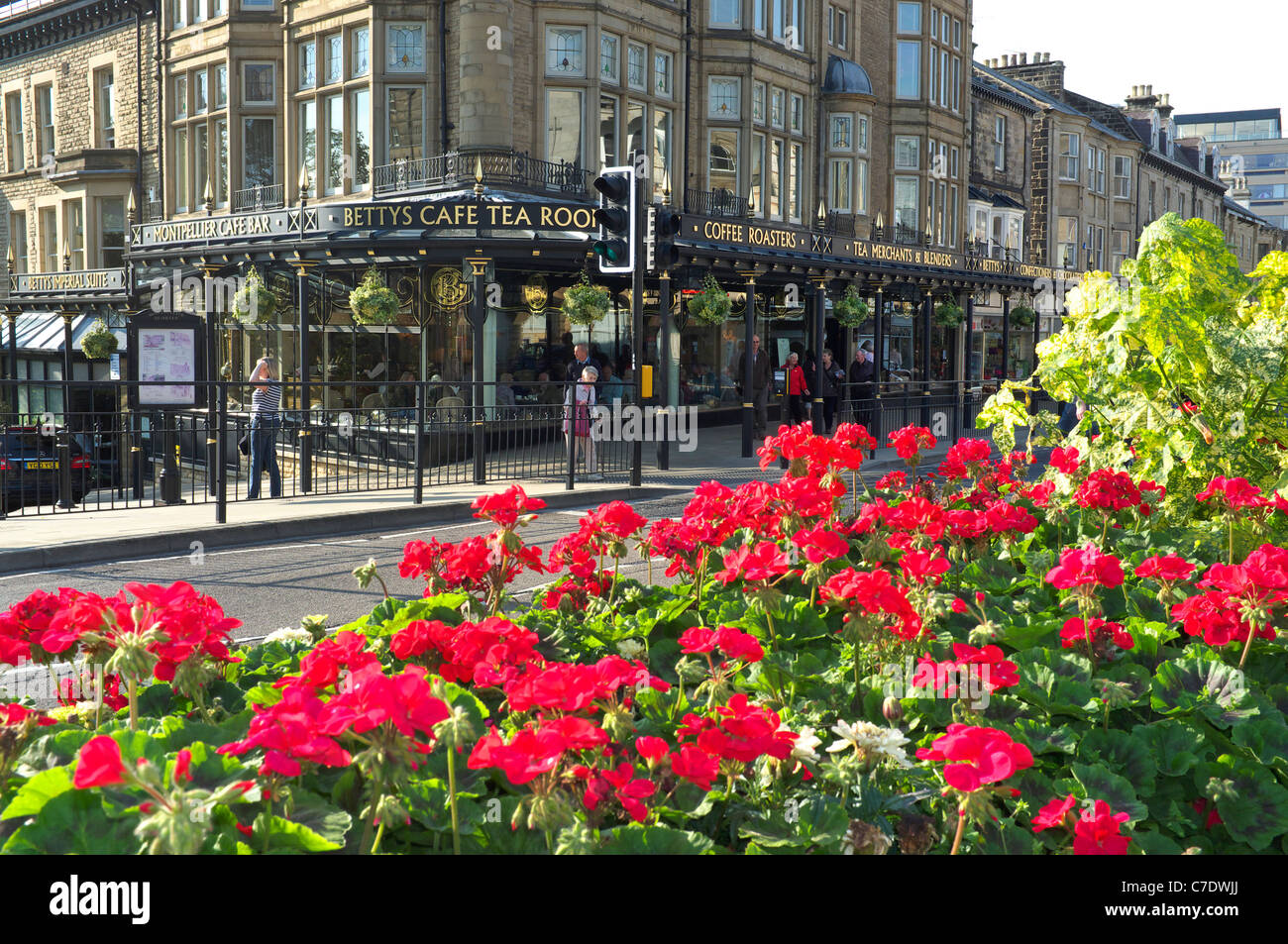 bettys tea room and emporium harrogate yorkshire uk Stock Photo