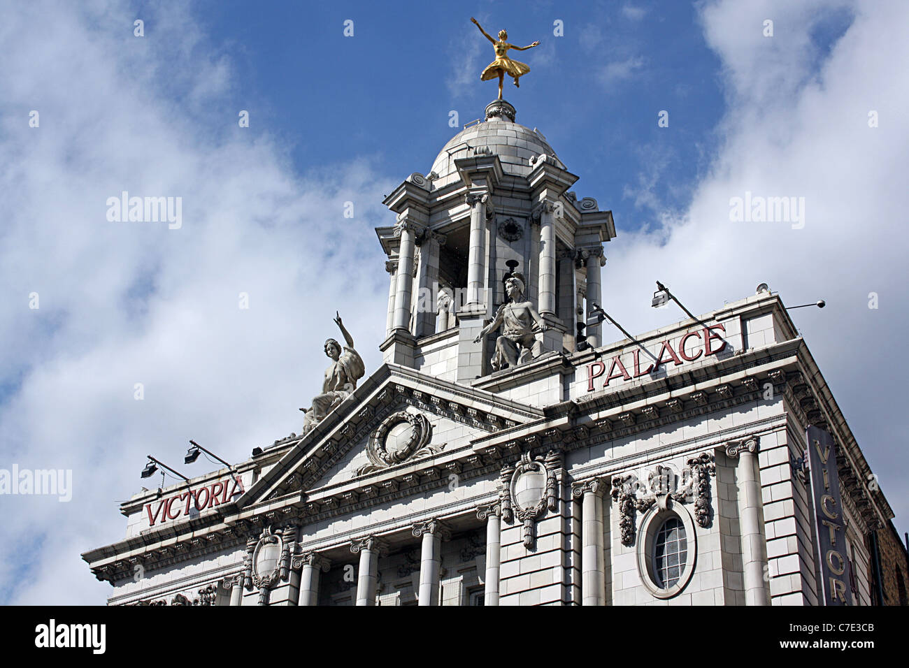 Victoria Palace Theatre, London, Frank Matcham. - Stock Image
