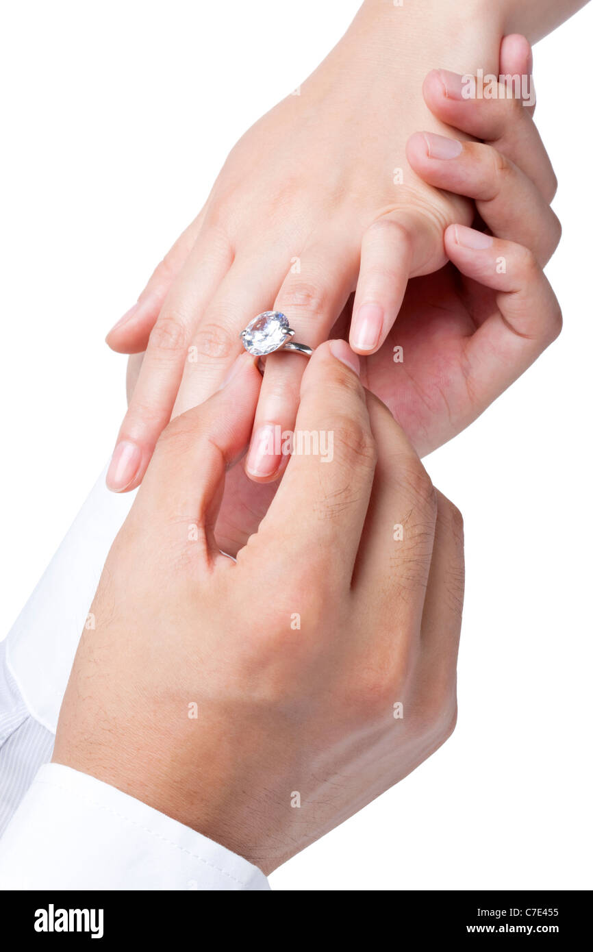 Engagement Ring Cut Out Stock Photos & Engagement Ring Cut Out Stock ...