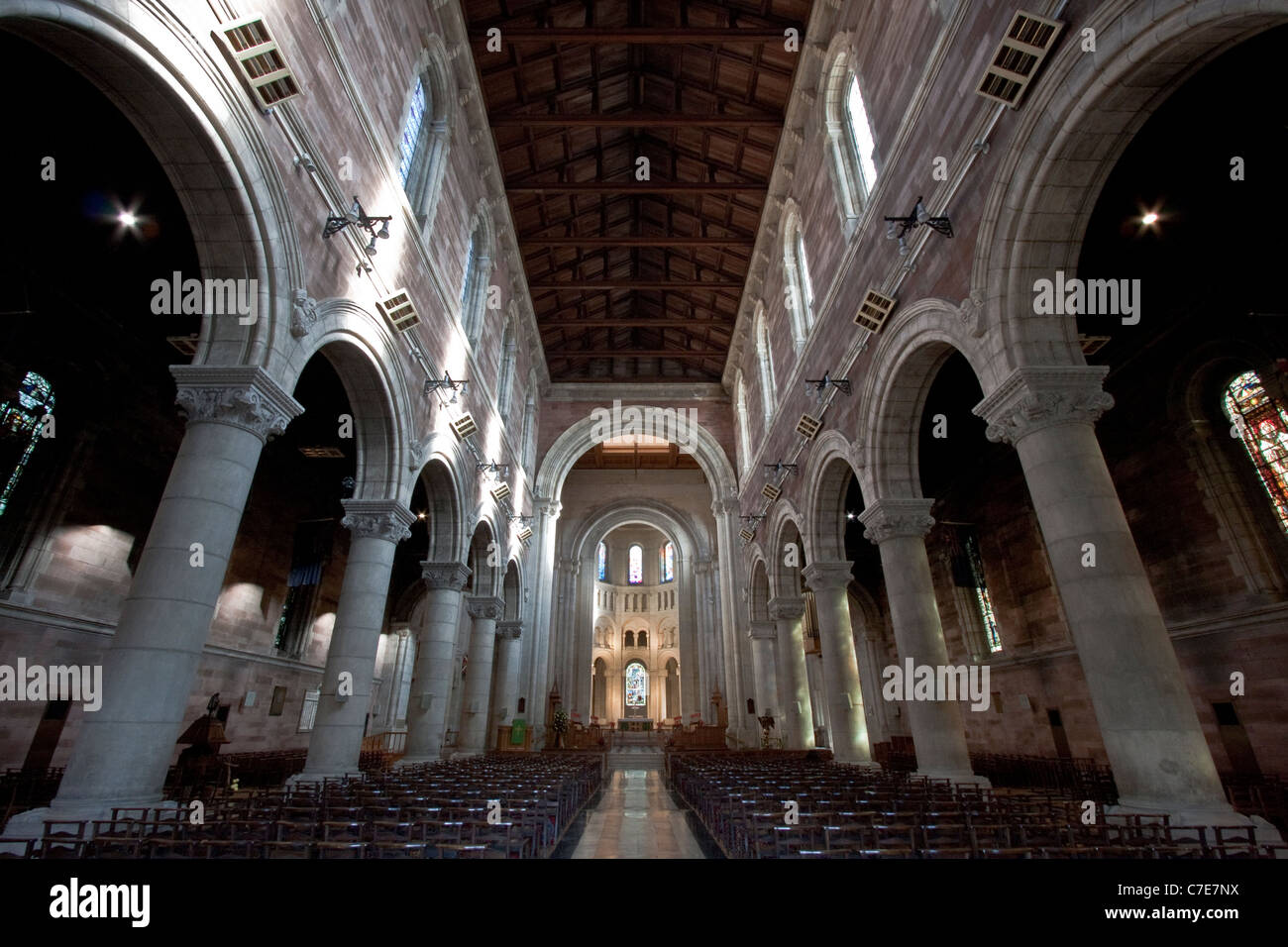 The Cathedral Church of St Anne, Belfast - Northern Ireland - Stock Image