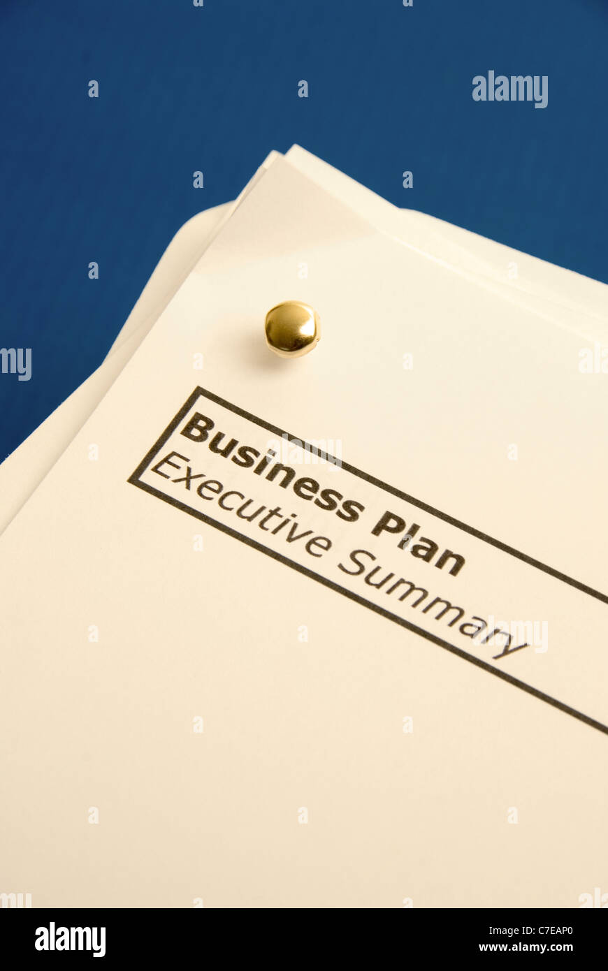 Business Strategy concept image - Business Plan - Stock Image
