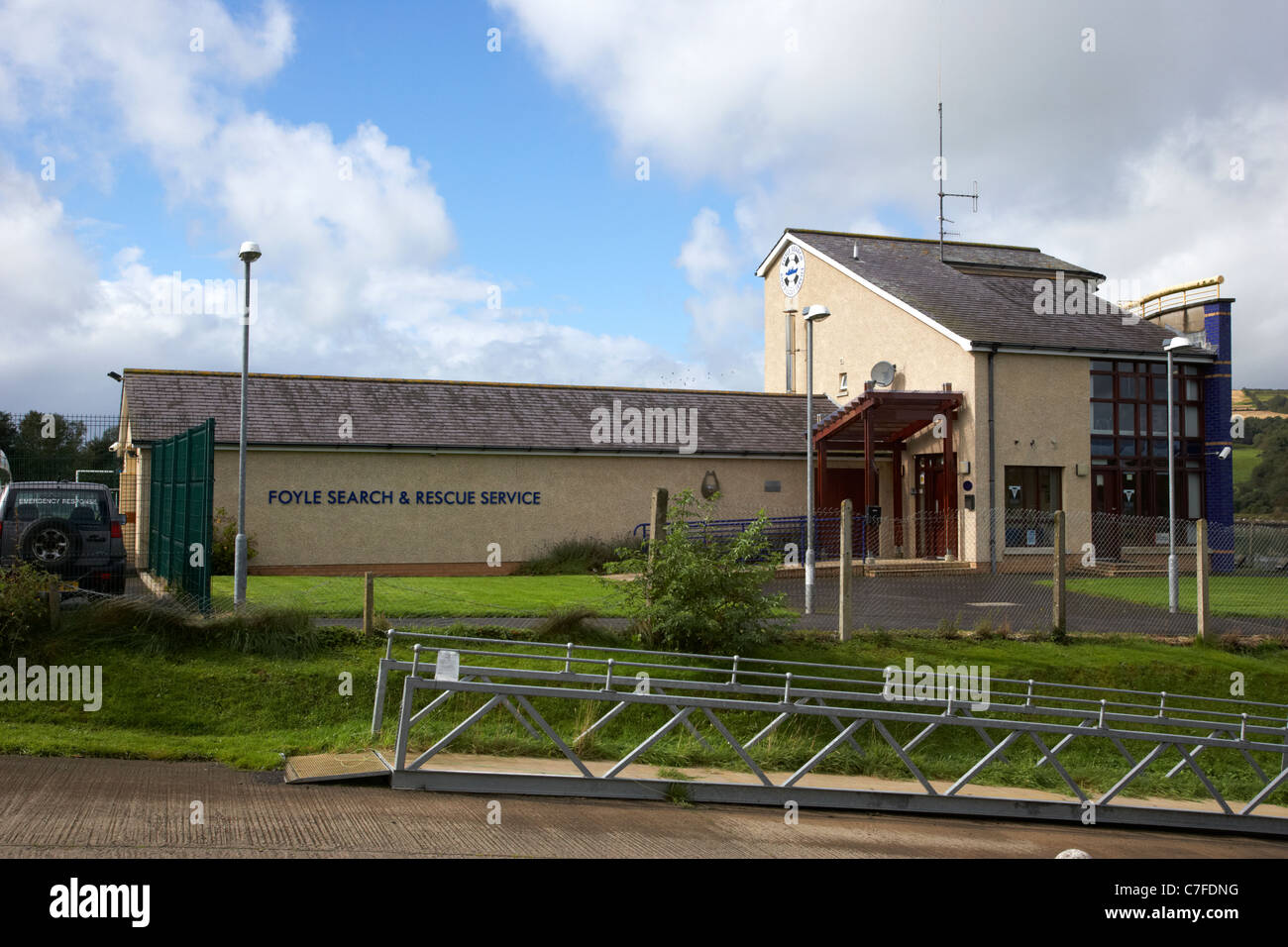 foyle search and rescue service headquarters derry county londonderry northern ireland - Stock Image