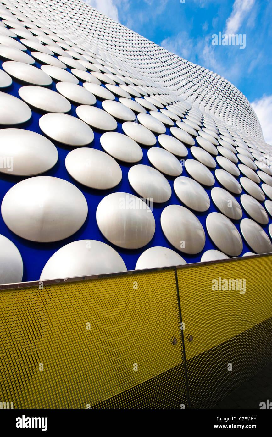 Exterior of the Selfridges building, The Bull Ring shopping center, Birmingham, UK - Stock Image