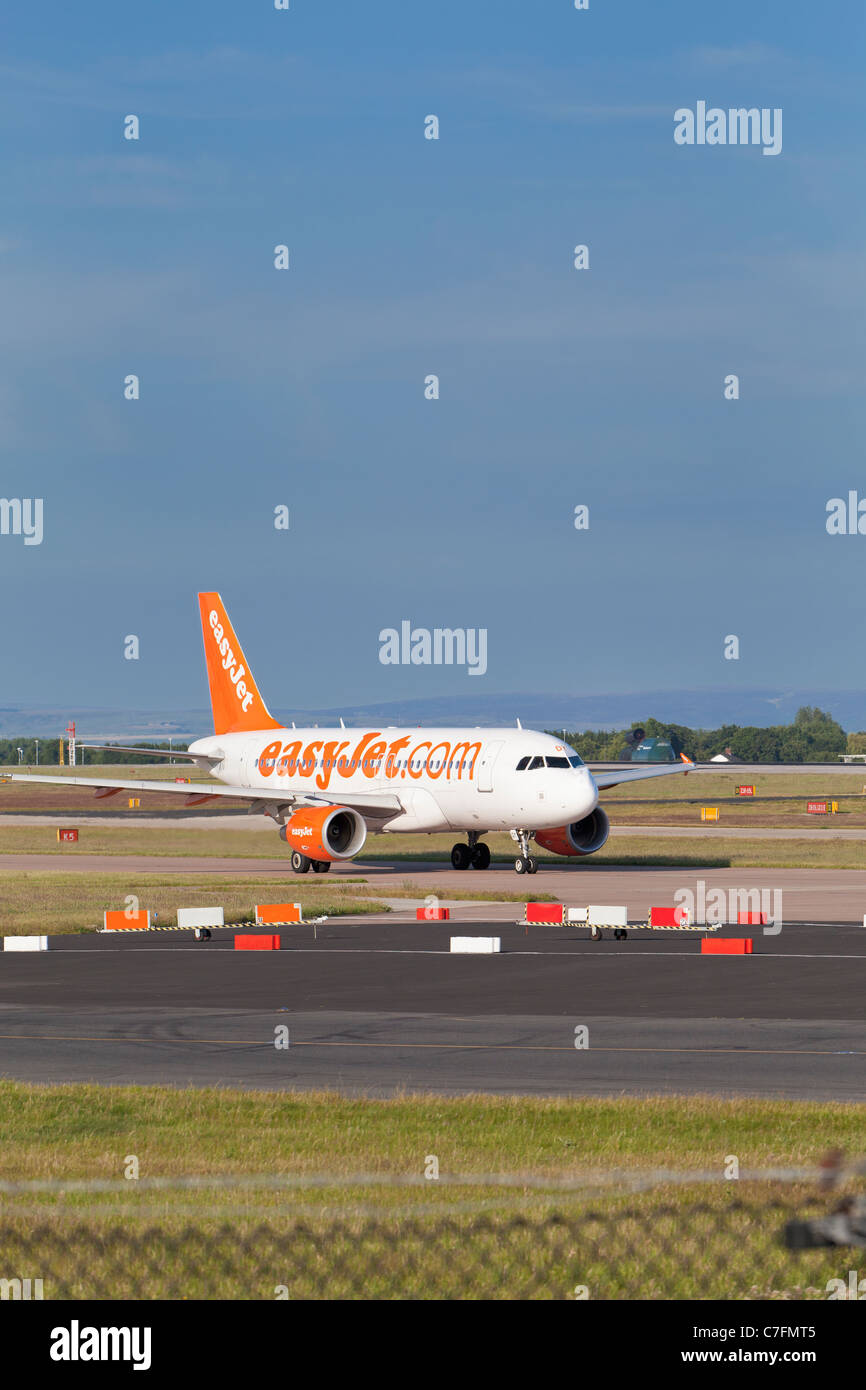 An EasyJet plane, England - Stock Image