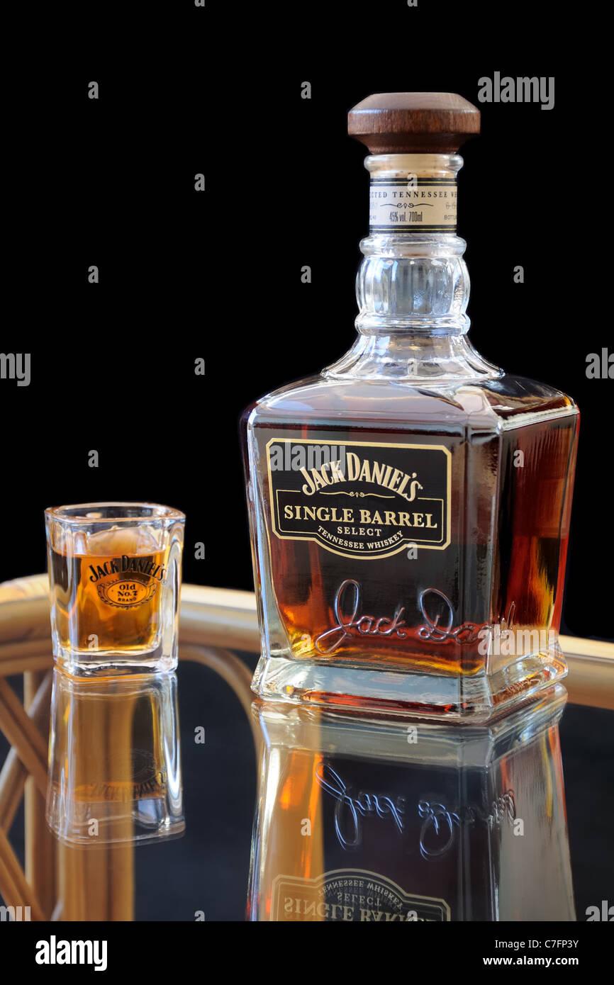 jack daniels bottle stock photos jack daniels bottle stock images