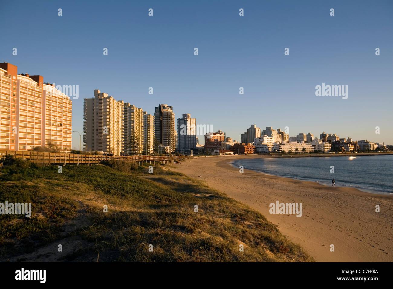 Punta del Este, Uruguay - Stock Image