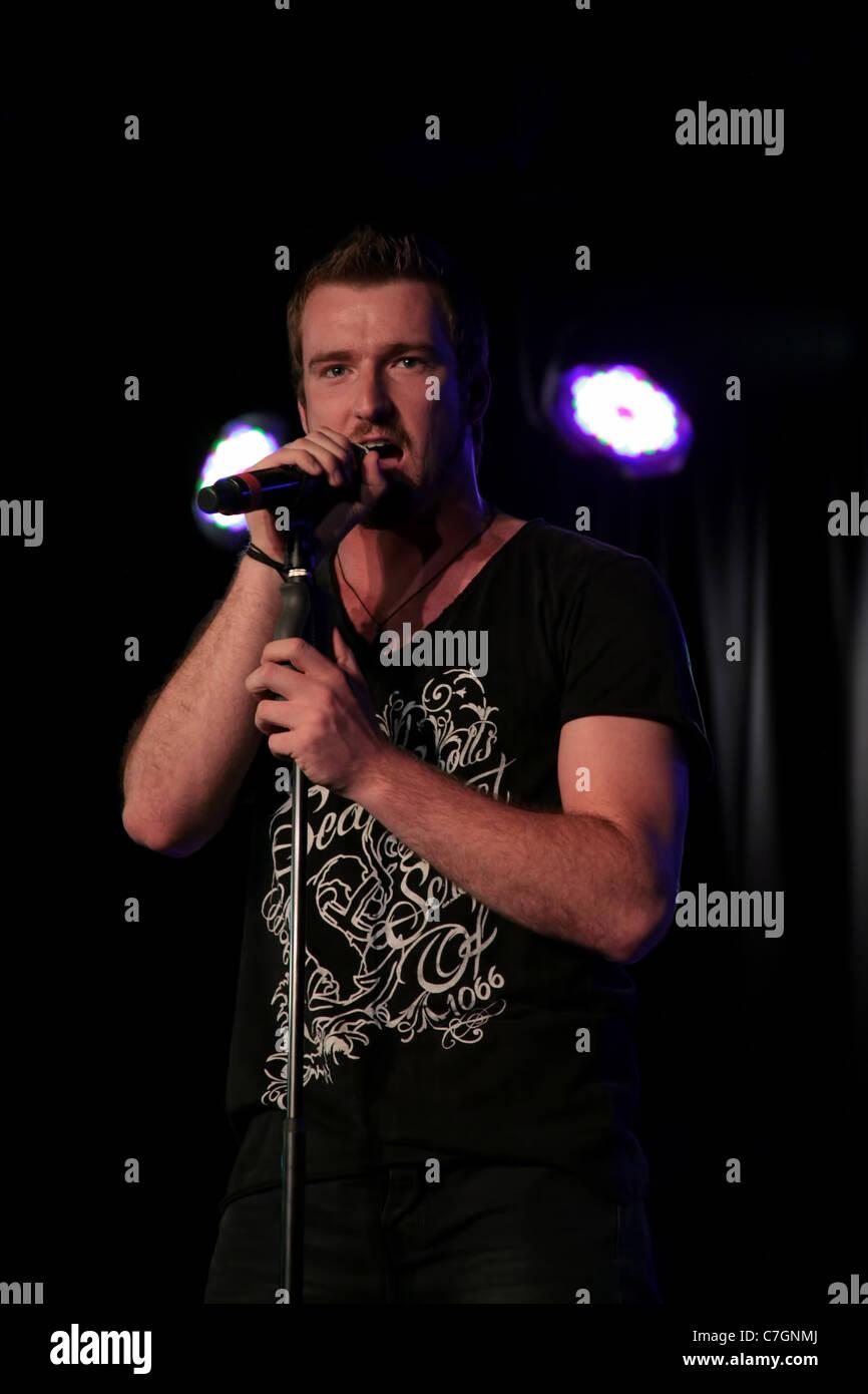 Jai McDowall, Britain's Got Talent Winner 2011 Live on Stage - Stock Image