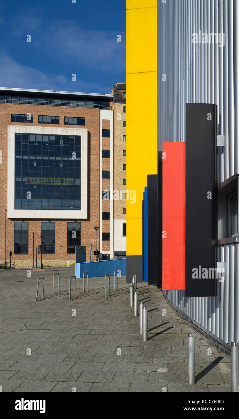 City centre regeneration Newcastle upon Tyne - Stock Image