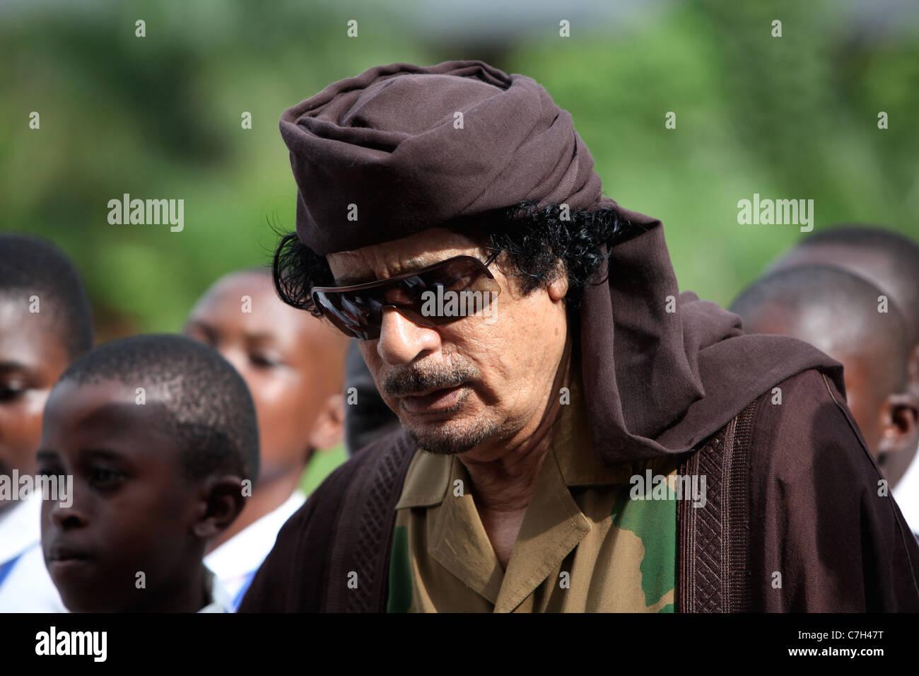 Muammar al-Gaddafi - Stock Image
