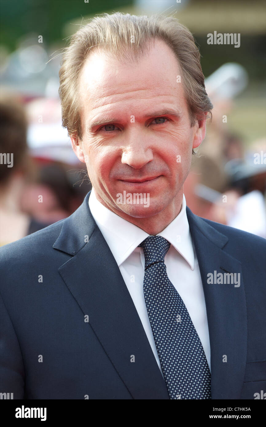 Ralph Fiennes - Stock Image