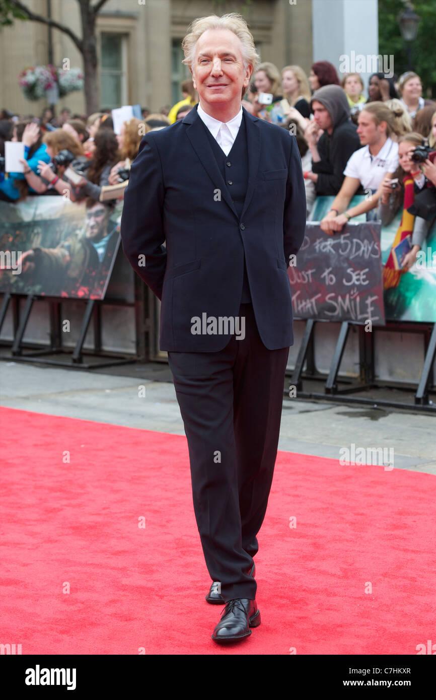 Alan Rickman - Stock Image