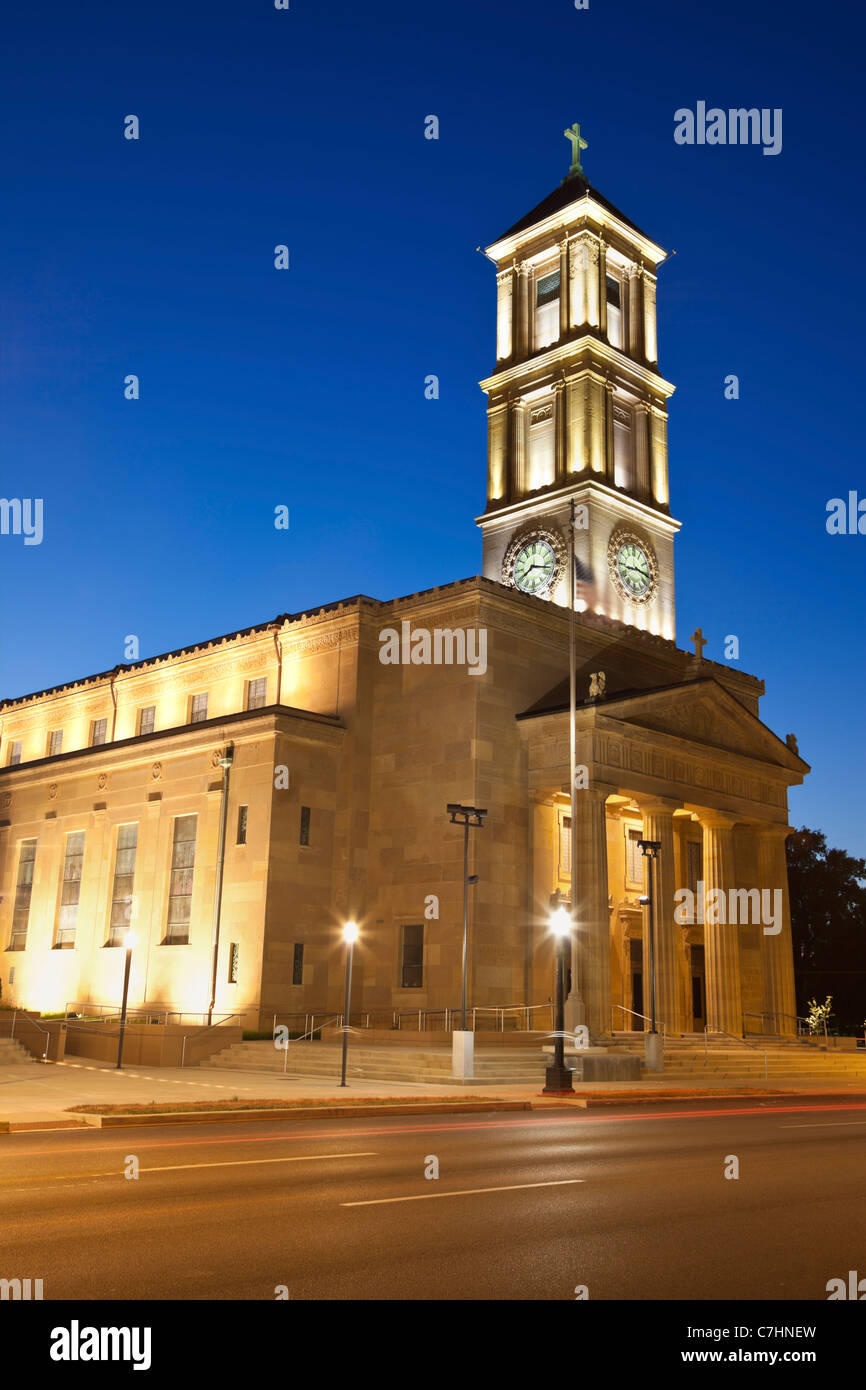 Cathedral of the Immaculate Conception in Springfield - Stock Image