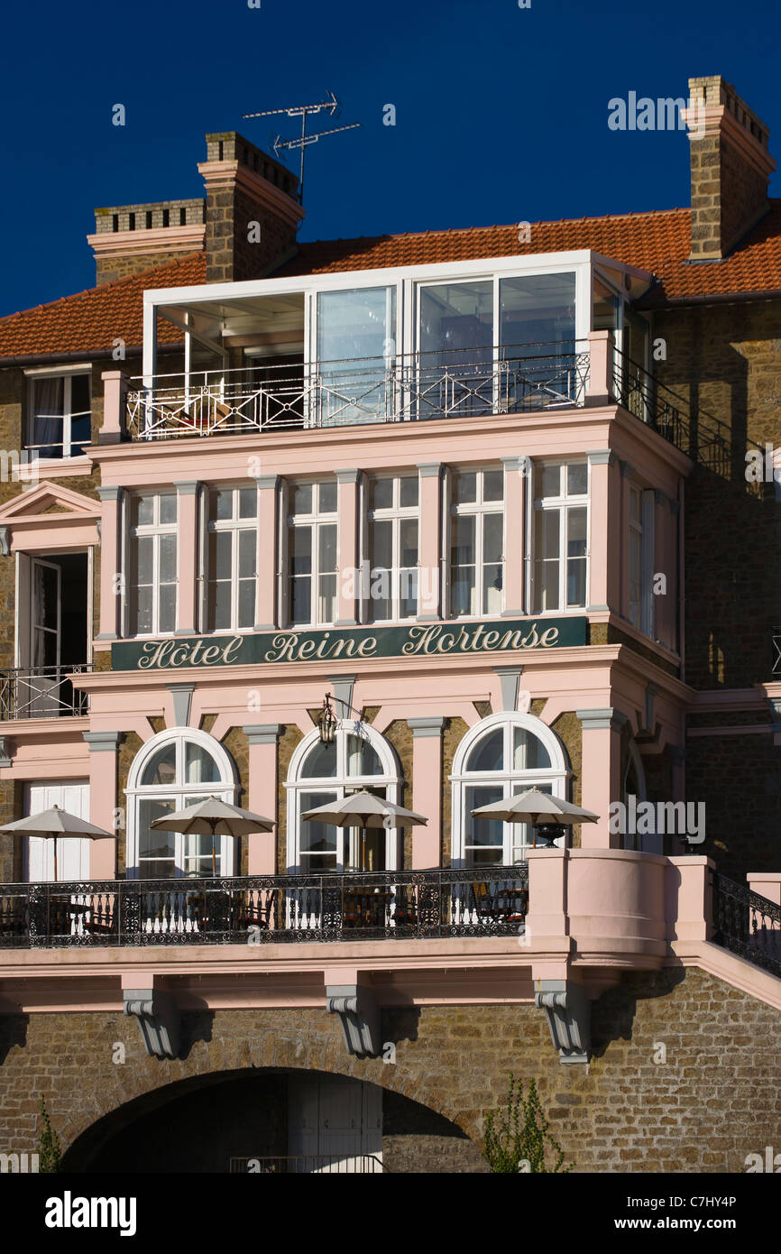 Perfect Villa Reine Hortense Dinard, Ille Et Vilaine, Brittany, France   Stock