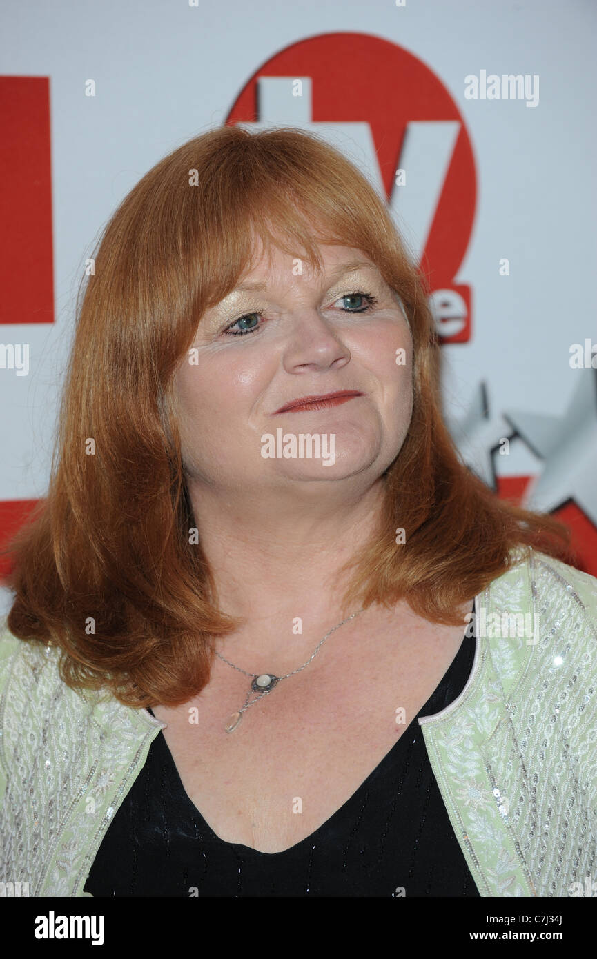 LESLEY NICOL TV CHOICE AWARDS 2011 THE SAVOY HOTEL THE STRAND LONDON ENGLAND 13 September 2011 - Stock Image