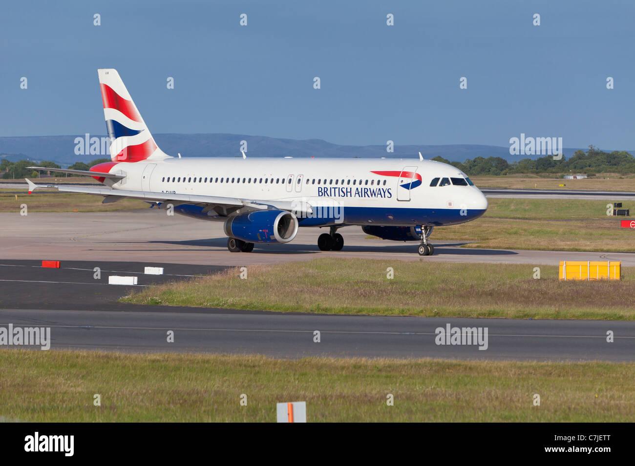 A BA aircraft, England - Stock Image